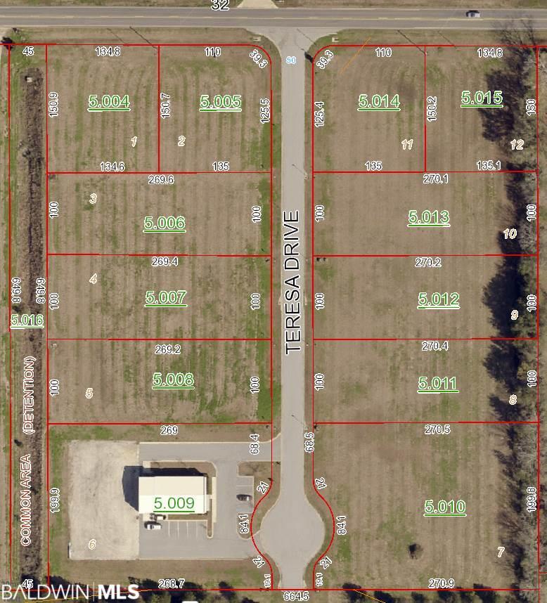 Lot 2 Teresa Drive, Fairhope, AL 36532