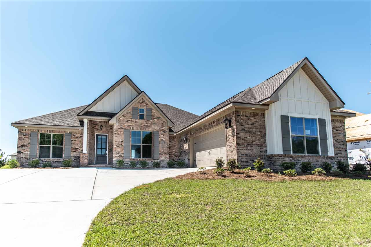 New construction - the Richmond 2 plan in the  new phase 3!  Tons of character and charm in  this plan.  Arched entry into the kitchen, vaulted ceiling in the  dining room, lots of trim and wainscoting.  You will enjoy the Level 2 wood floors in the foyer, dining room, great room, kitchen, breakfast AND master bedroom!!  Wonderful  split plan with jack n' jill bath.  Gas burning fireplace with raised brick hearth, custom trimmed  mantle and a smart tube over the fireplace to hide your tv wires!  Kitchen is a dream with custom painted cabinetry, granite top, back splash and Kitchen  Aide appliances.  Built to Fortified GOLD and a  2-10 warranty.   ESTIMATED COMPLETION March, 2019