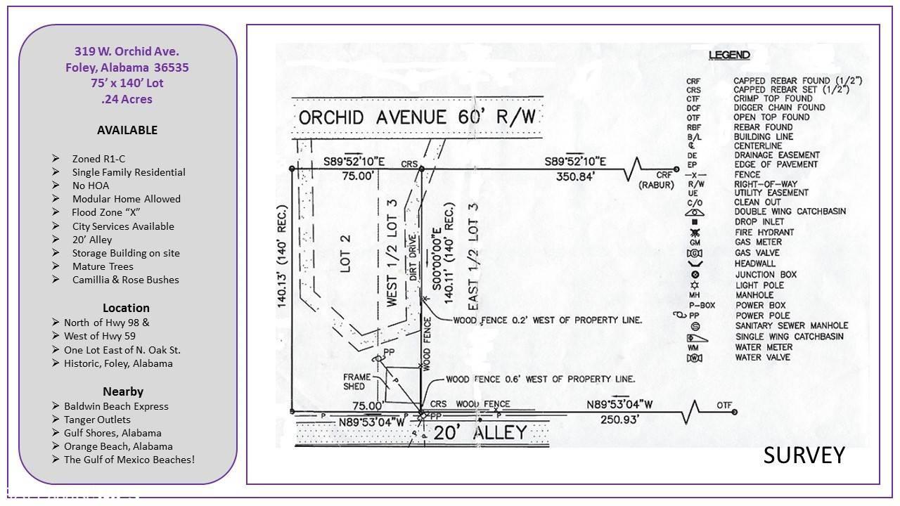 319 W Orchid Av, Foley, AL 36535