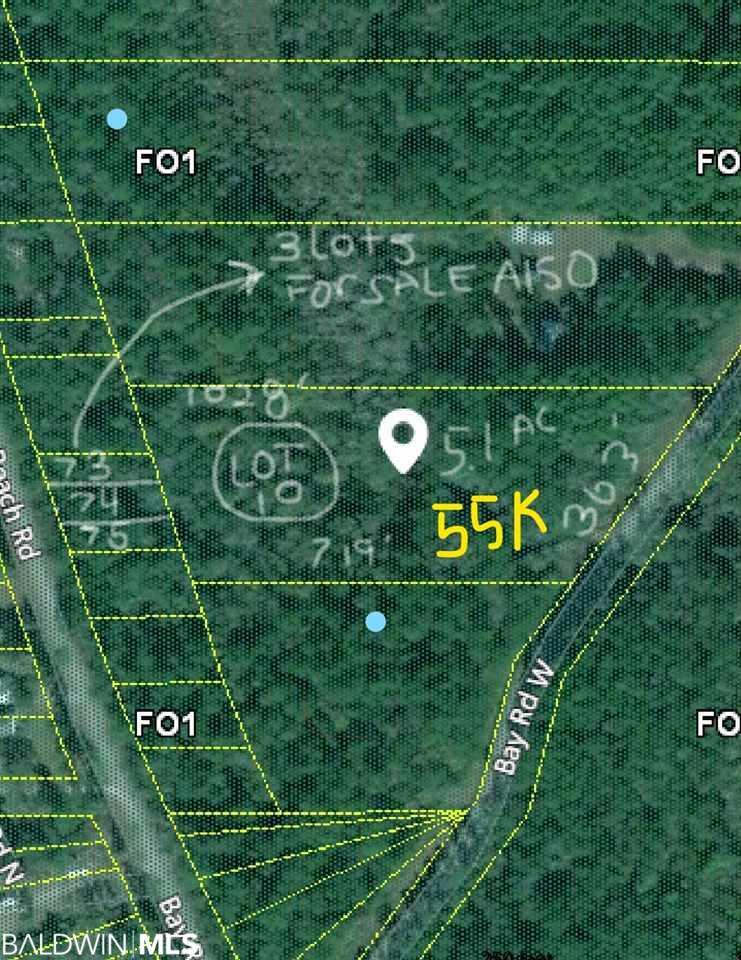 Lot 10 Bay Road, Foley, AL 36535