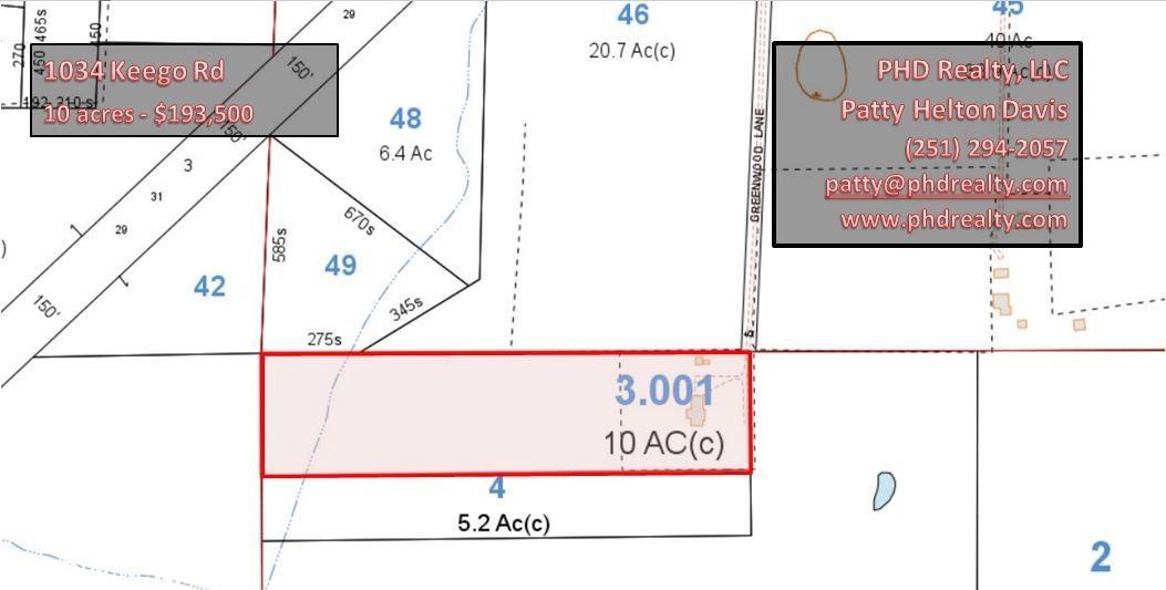 1034 Keego Road, Brewton, AL 36426
