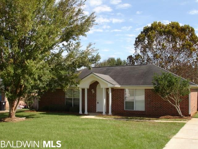 3 BEDROOM 2 BATH HOME BACK BEHIND ROBERTSDALE HIGH SCHOOL. FRESHLY PAINTED THROUGHOUT THE HOME, NEW CARPET IN THE 3 BEDROOMS, TILE FLOORING EVERY WHERE ELSE, NEW WHIRLPOOL STOVE/OVEN, MICROWAVE, DISHWASHER, NEW GRANITE IN KITCHEN. LARGE WALK-IN CLOSET IN MASTER BATH, GREAT STARTER HOME, 16' X 24' NEWLY REMODELED OUT BUILDING, COME TAKE A LOOK!!!