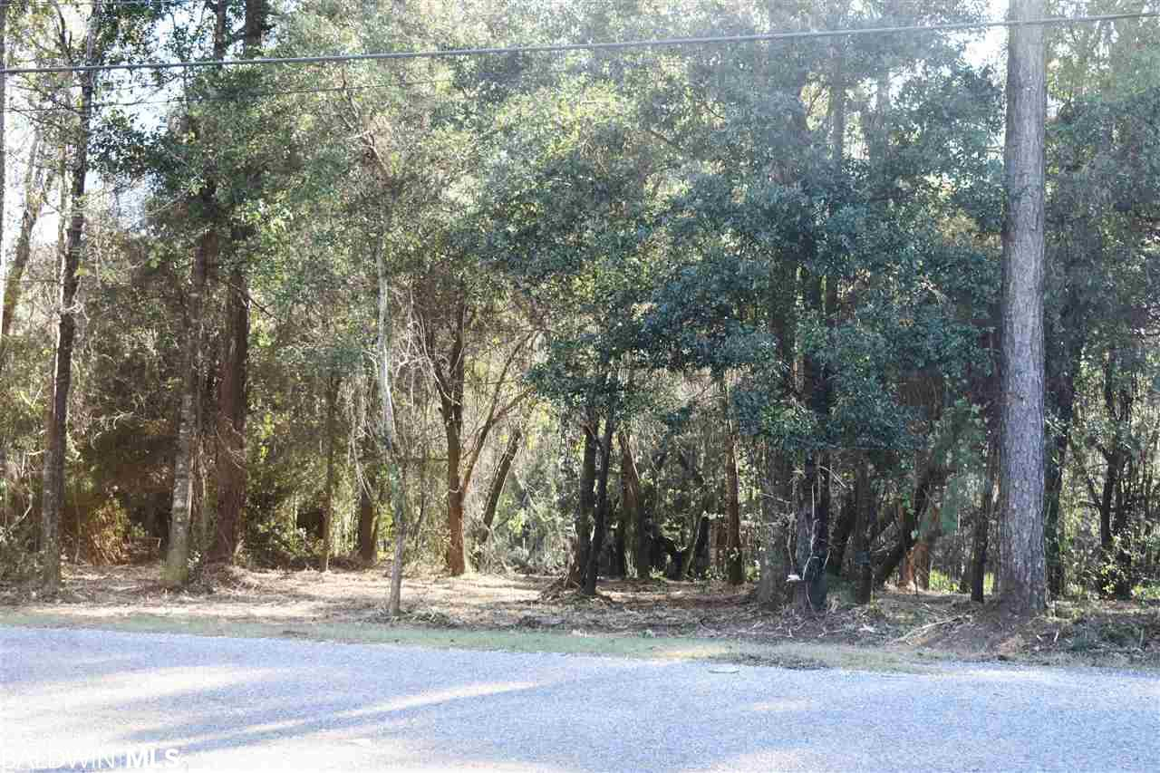 Beautiful trees adorn this .70 Acre lot in Fairhope School district. All cleaned up and ready for your new home. Be sure to walk to the back of the lot and discover the perfect place for a small pond.