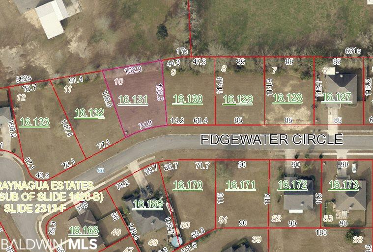 Edgewater Circle Loxley, AL 36551 278722