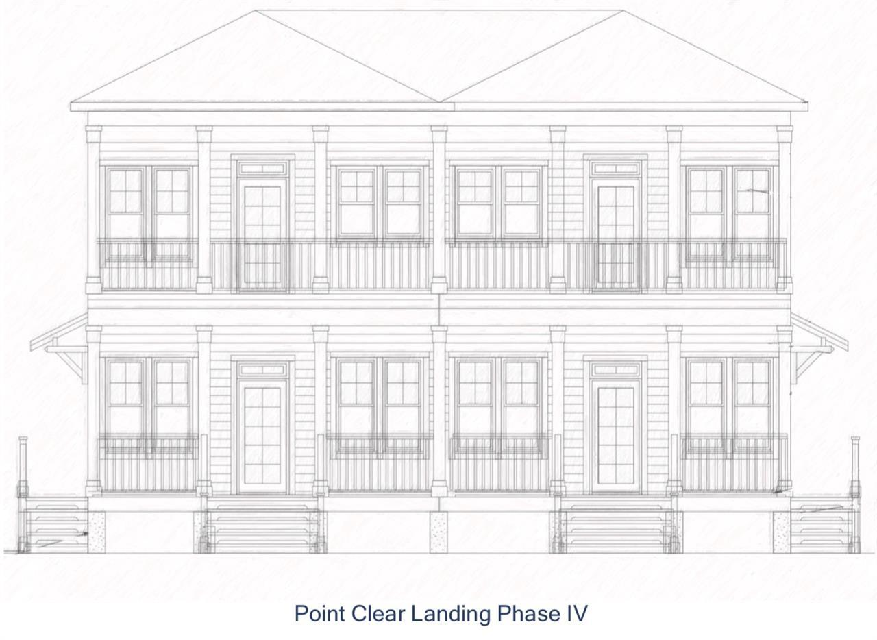 Now accepting reservations for the last phase of Point Clear Landing! Complex neighbors Lakewood Golf Club and is within walking distance to The Grand Hotel Golf Resort & Spa. Phase IV features two, 2-story buildings that will overlook the private marina accessing Mobile Bay. Phase IV will have gated access and attached garage. Units will feature premium finishing and appliance package. With breathtaking Mobile Bay sunsets and rare amenities for this desirable area, truly make this development the last of its kind available. Deeded boat slip included and units will have Complex Amenities. Need Not Be Built.  Breaking ground Summer 2019, now is the time to choose colors!