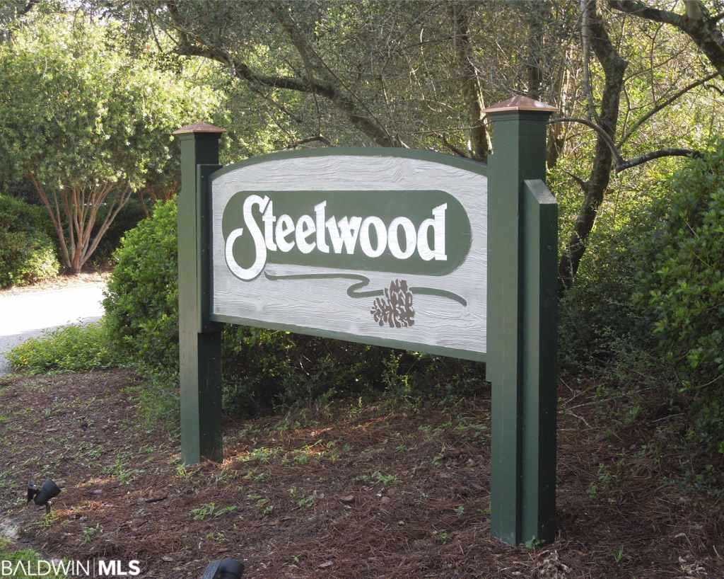 Fabulous lot located in secluded and gated Steelwood Country Club.  Heavily wooded with so much privacy!  Build your dream home so you can watch the sunset and enjoy the peacefulness of Steelwood. You do not have to be a member of the Club to own property, but if you choose, join Steelwood Country Club and experience the incredible Jerry Pate built 18 hole Championship course, fish in the fully stocked 200 acre Steelwood Lake, play tennis, work out in the Fitness Center and enjoy dining at its finest. If you do not join the Club, you still have access to the community pool, pavilion, basketball/pickleball court in Chapel Grove!