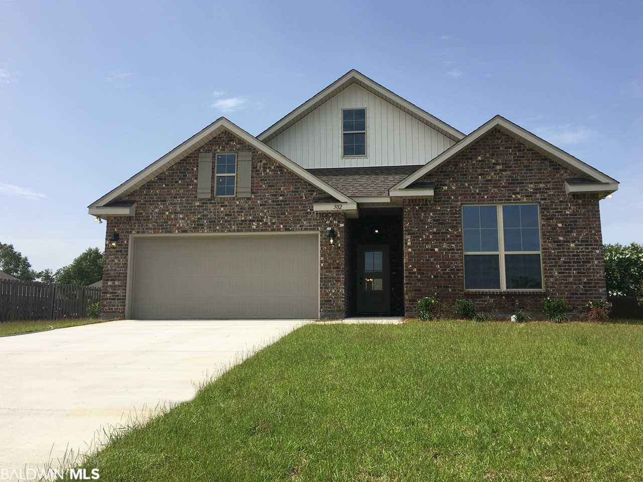 502 Orange Blossom Circle, Summerdale, AL 36580