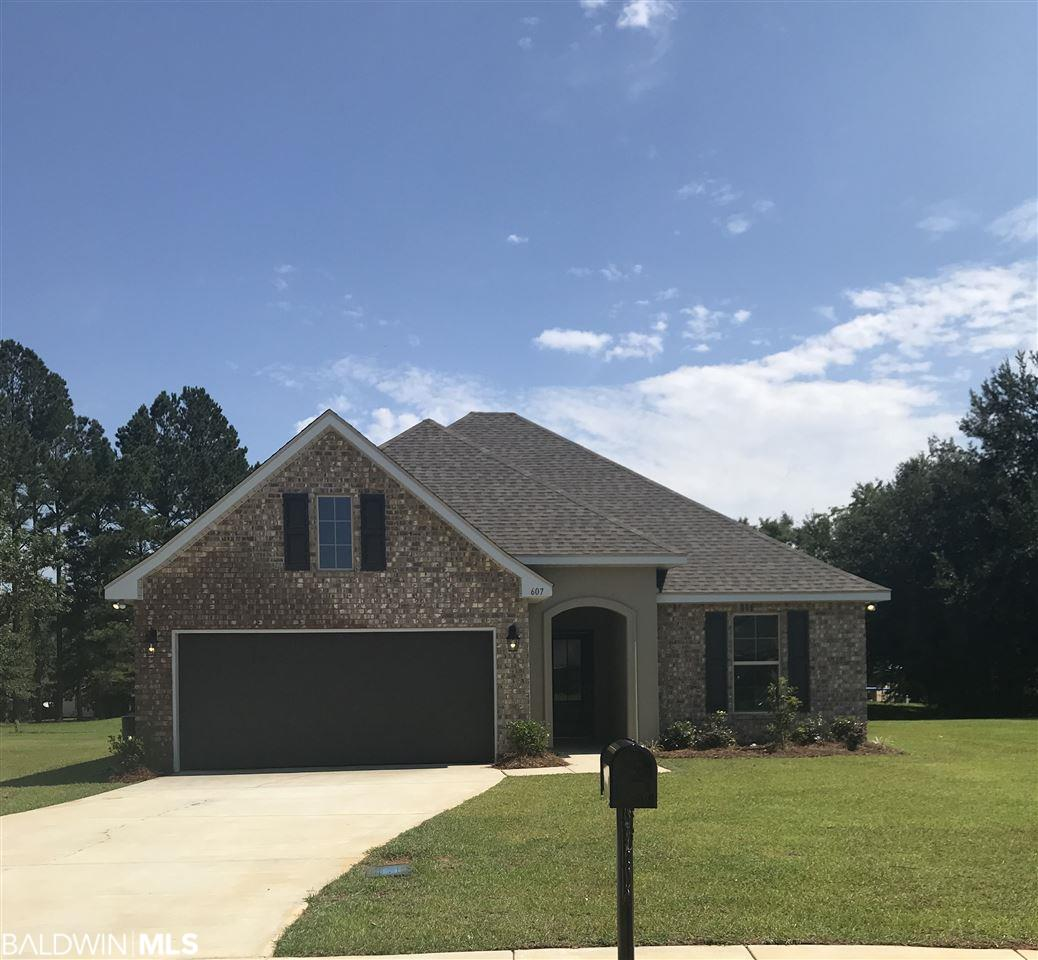 607 Orange Blossom Circle, Summerdale, AL 36580