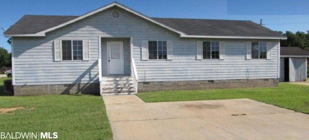 3 bedroom, 2 bath home for sale with vacant land totaling 7.8 Acres in Daphne. There are three (3) parcels; Parcel A is PPIN# 003636 7.3 Acres; Parcel B is PPIN# 058482 .50 acre and Parcel C is PPIN#058483 .50 acres. House sold as-is with no value but is rented at $1500/month and could make a nice office.  Manufacture home does not convey.