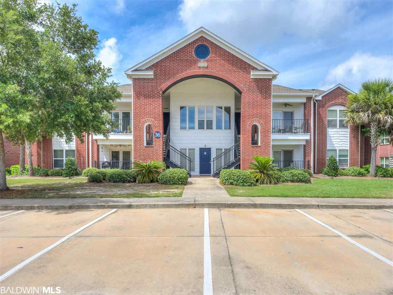 This beautifully furnished 1 bedroom plus bonus room that could be used as a second bedroom has great views of the 7th fairway.  This non rental would make a great rental or second home.  Amenities include Golf, Resort Style Pool with Play area for kids, Tennis Courts and a 3,300 sq.ft Fitness Center and so much more.