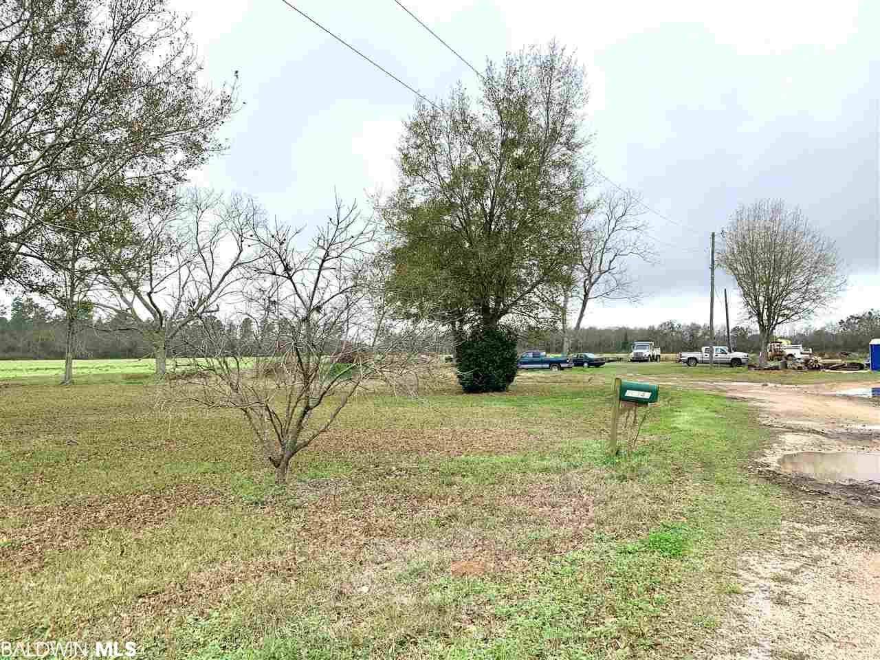 Great opportunity to own 3.0 acres currently Zoned B-1 in Loxley just off Hwy 59. Excellent income producing location, office site or general business. Currently used for repair and farm equipment business. Great location just 5 minutes to I-10 and 45 minutes to Gulf Beaches. Parcel has 363 feet along CR 55 just one block from Hwy 59. Centrally located between Mobile and Pensacola.