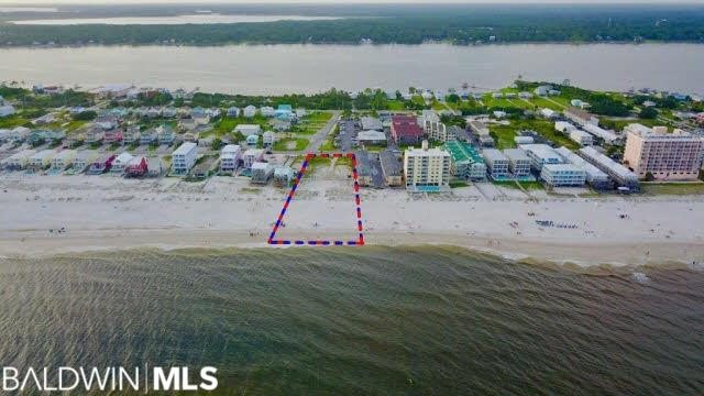 Gulf Front development opportunity pre-approved for 49 condominium or hotel units. 155' frontage on the Gulf & 103' road frontage on Beach Boulevard. Zoned BT-4 (Business Tourist High Density). See survey under documents.