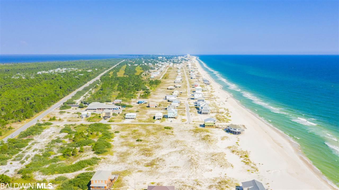 +/-5 Acres on Hwy 180 with over 400' of Gulf Front ready to be developed.  This property has 300' frontage on Hwy 180 and additional Access of Our Road and ready to be developed or Beach Front Estate.  The listing consist of 3 different Parcel Numbers 060294, 060413, 003887.