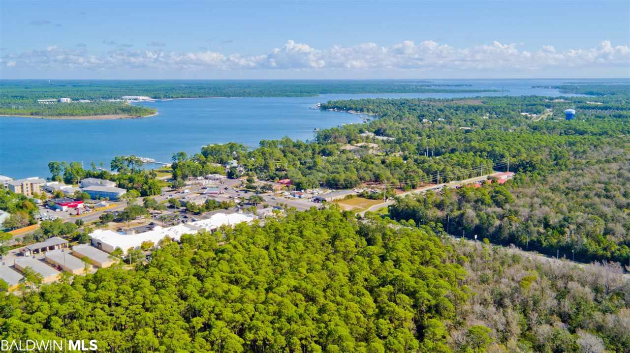 ATTN: DEVELOPERS & INVESTORS. ONE OF THE ONLY LARGE TRACTS OF UNDEVELOPED LAND REMAINING IN ORANGE BEACH. This property offers tremendous upside. Approximately 13.79 ACRES zoned General Business. 576 feet along Hwy 161 in prime spot directly south of McDonald's. With the construction of Orange Avenue, this will soon become a corner piece of commercial property at the intersection of Canal and 161 with nearly 1000 feet on Canal (Orange Ave), and one of the most heavily trafficked areas in all of Orange Beach. An excellent location with endless possibilities including shopping, restaurants, apartments, hotels and other new businesses.