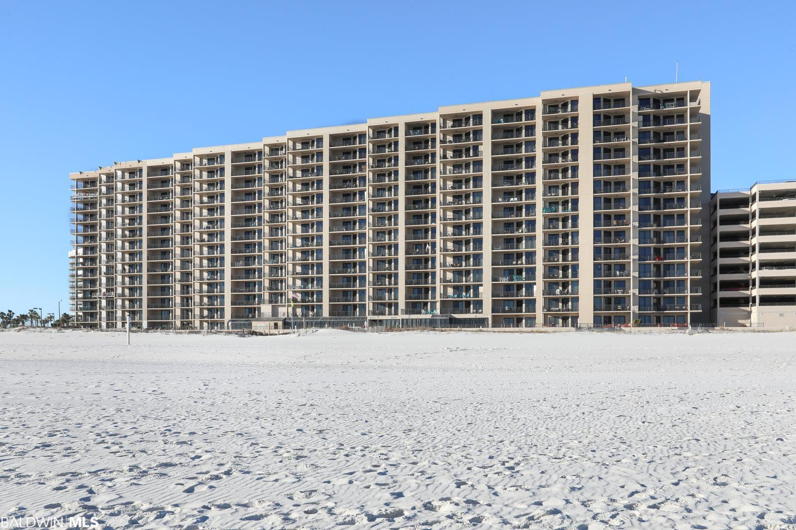 Phoenix X is situated directly on the white sandy beaches of Orange Beach, AL adjacent to the world famous Flora-Bama lounge! This complex also has some great amenities - indoor and outdoor pools, double hot tubs, exercise facility, lighted tennis court, shuffleboard, saunas, and grilling area. Note: Amenities are being rebuilt after Hurricane Sally with expected completion time to be end of Spring 2021 or sooner. These new amenities should be great for future rentals! The views from this CORNER UNIT are breathtaking! 2 balconies to enjoy the water views and amazing sunsets! One wrap around balcony overlooking the Gulf of Mexico and the other overlooking Ole River. You can also take in the views from the living area or master bedroom. The kitchen is upgraded with granite countertops and stainless appliances, and there is a full sized washer/dryer in the unit. Unit is being sold fully furnished and is rent ready!