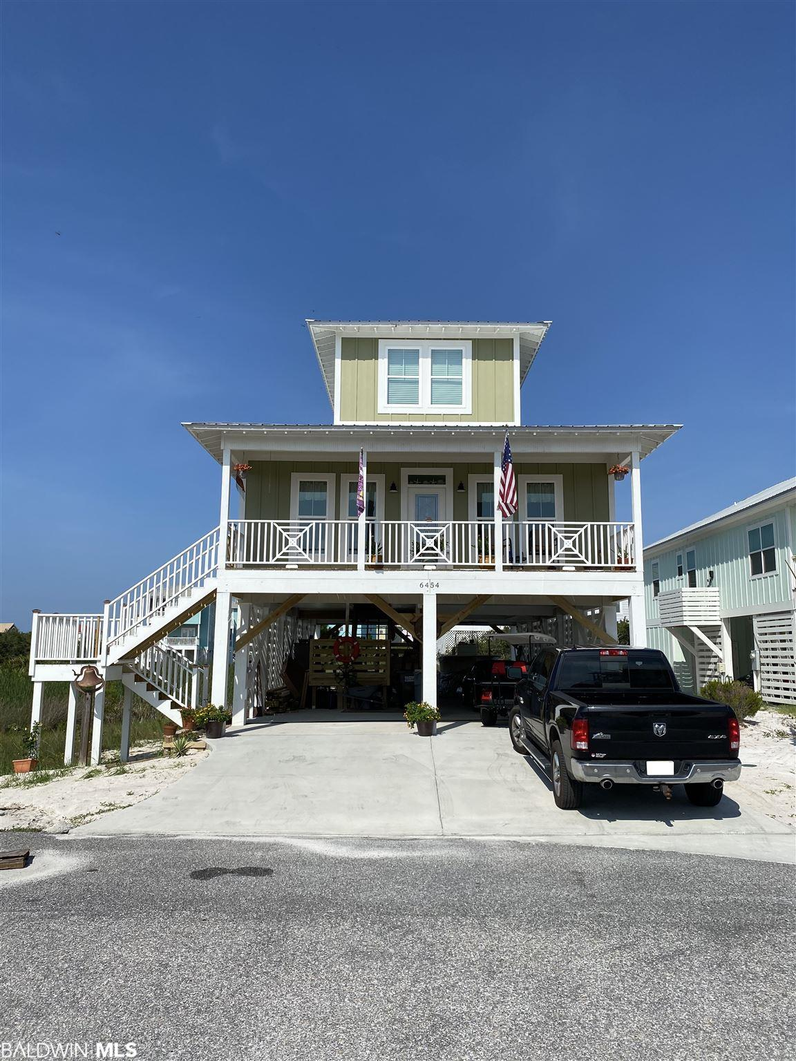 A beautiful 3br 2 1/2ba raised beach cottage in Morgantown! This home sits on an elevated lot with Gulf Views. It is the builder's personal home and is less than a year old. Morgantown features a beach access, HOA owned beach lot, two pools, and tennis courts. $40-45K rental projection.