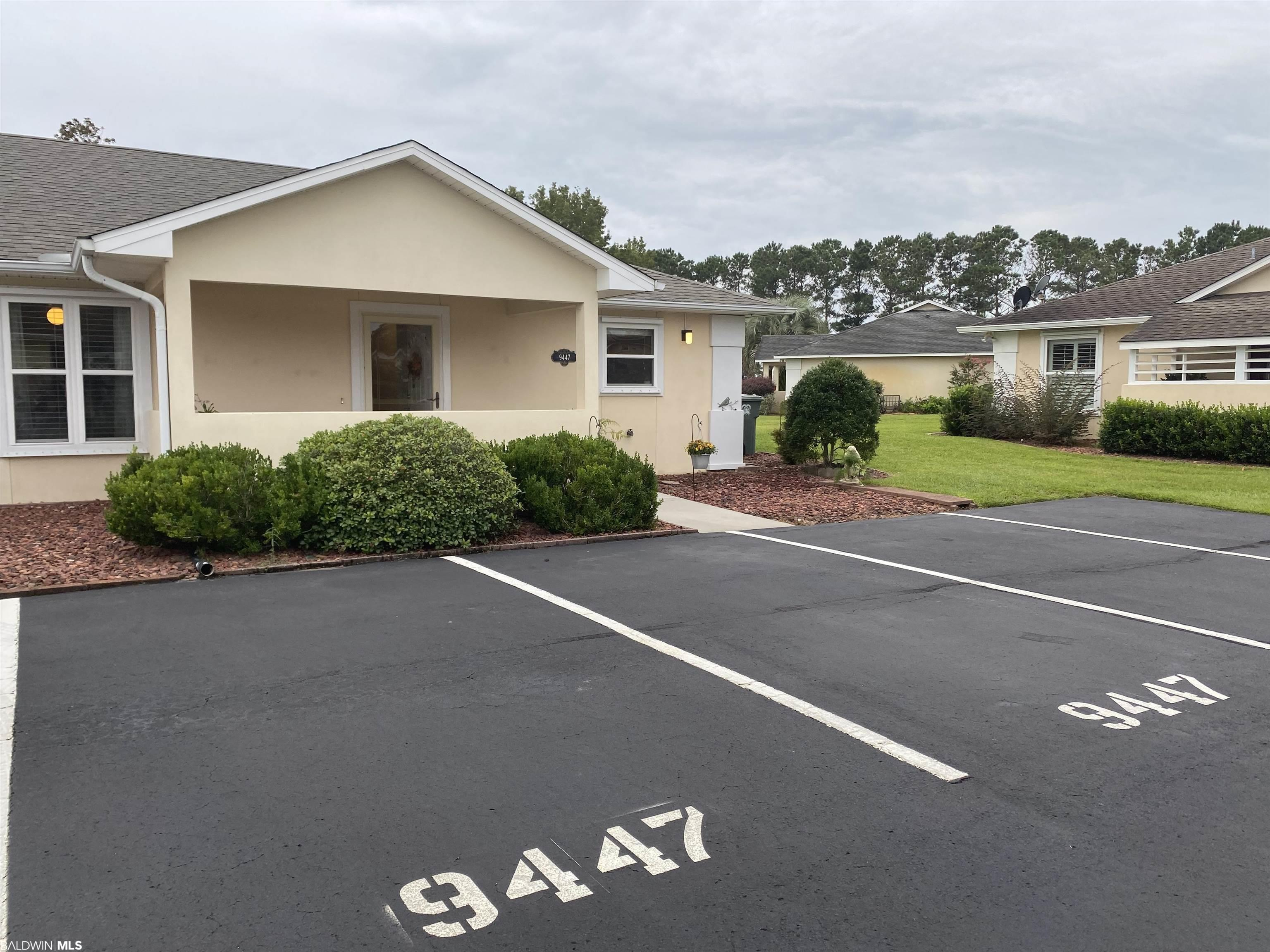 This well maintained large 2 bedroom, 2 bath villa is located in the highly sought after affordable golf community of Lakeview Villas which is located within the Glen Lakes neighborhood. Enjoy this peaceful and quaint community while being in the heart of the action of Baldwin County.  This villa is located within minutes of OWA, dinning, entertainment, shopping at the Tanger Outlets and of course, the beautiful white sands of Orange Beach and Gulf Shores.   This home has the perfect open floor plan, large master bedroom with an en suite master bath and an oversized closet. Ample storage is throughout the villa. Enjoy sitting in the heated and cooled sunroom while overlooking the well maintained landscaping.  In addition, the entire interior of the villa has been freshly painted and you will have peace of mind knowing that the villa has a new roof.