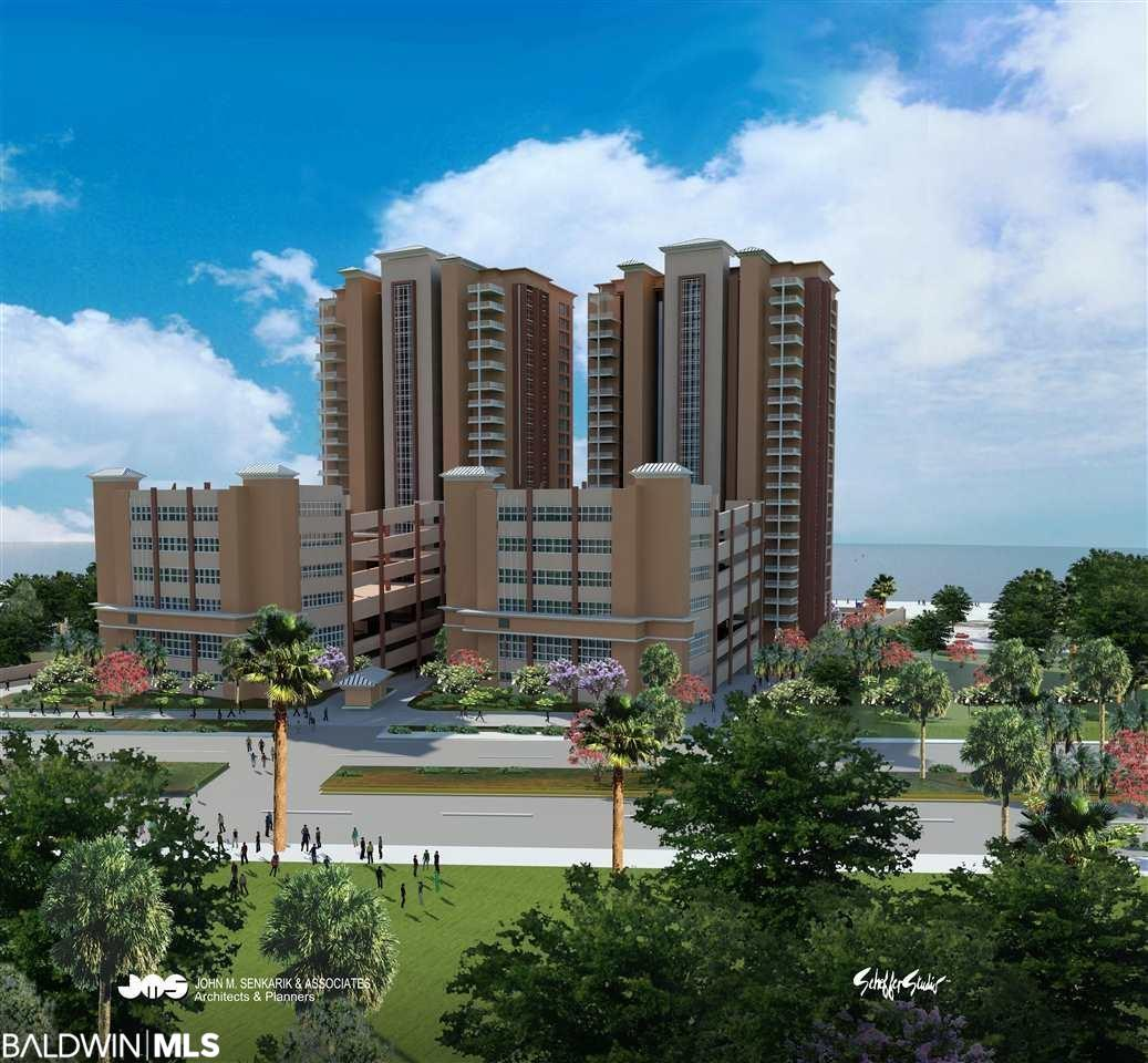RARE opportunity to own a brand new, poured-in place construction GULF front condominium.  Construction of Phase I of Phoenix Gulf Towers is now underway and completion is anticipated in late 2022. Premier location on the western end of Orange Beach, near the Alabama State Park.  This stretch of beach is lower density - avoid the crowds.   Dining and entertainment nearby.  Best of all, this two bedroom, three bath condo looks DIRECTLY at the sugary white sands of Orange Beach on the beautiful Gulf of Mexico. Buy now and have the opportunity to close your own finishes from several luxury options.  Please note:   This sale is for a pre construction assignment of interest.