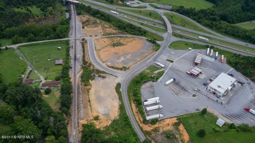 Extremely visible, high-traffic site, just off I-81 (lronto Exit #128) between Roanoke and Blacksburg/Virginia Tech. Highest and best use: hotel, casual dining, fast food, truck stop, c-store, etc. Water/sewer at site. Ample road frontage, access to current road.