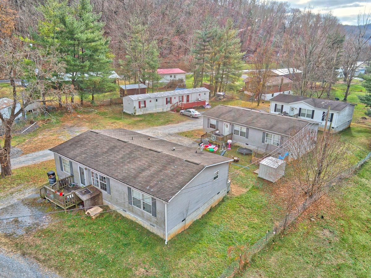 Looking to start an investment portfolio or expend your current one?  A great opportunity within the Town limits of Pembroke and 20 minutes to Virginia Tech.  This property features 3 Double wides and a single wide, all currently rented with room to add an additional single wide.
