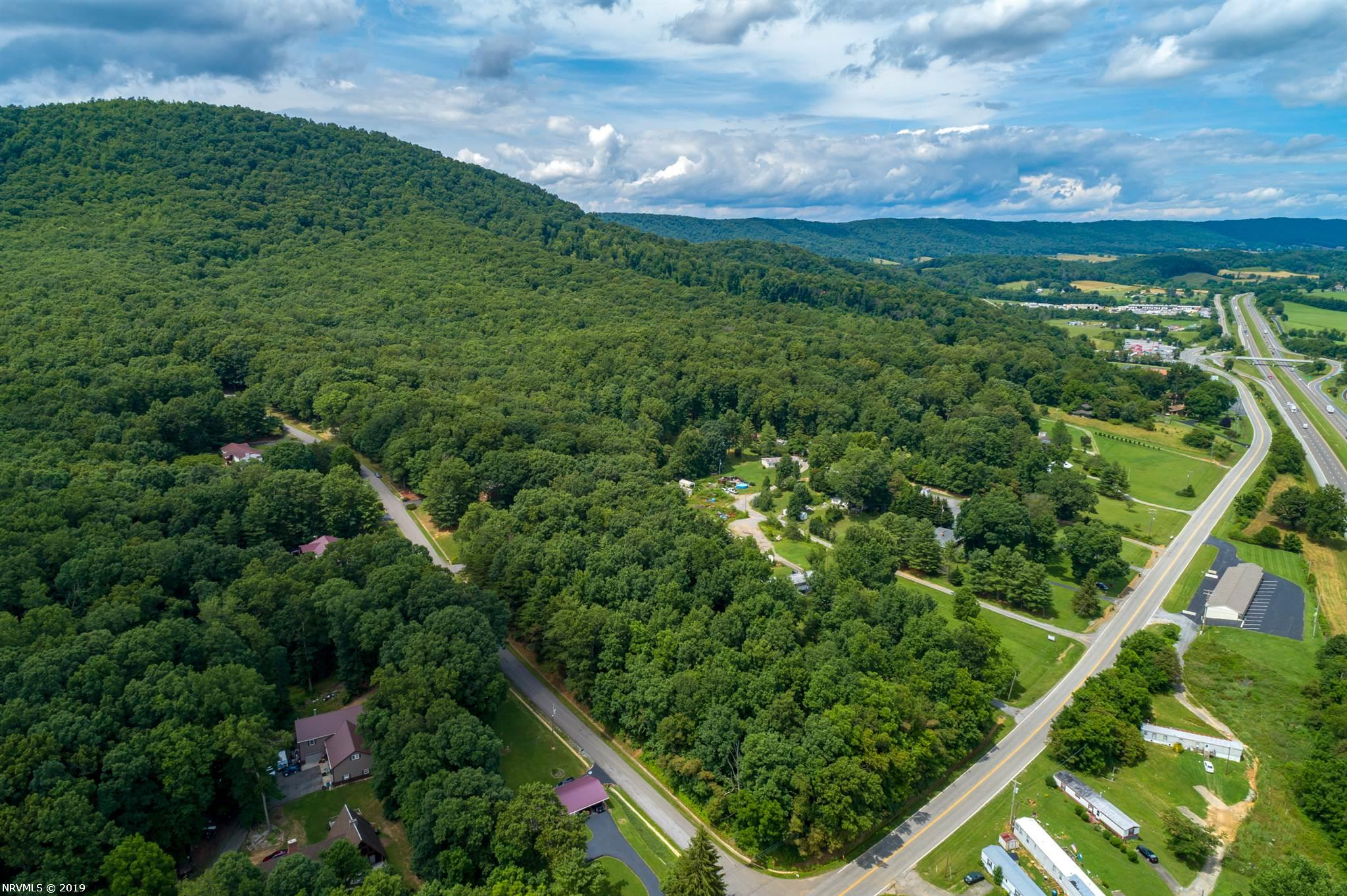 Beautiful wooded homesite located minutes to I81 and I77. Centrally located between Roanoke and Bristol, each within an hours drive. Short distance to beautiful downtown Wytheville and Pulaski. Enjoy all Southwest Virginia has to offer such as the New River, Appalachain Trail, Claytor Lake. Corner lots with state road frontage. Must see!