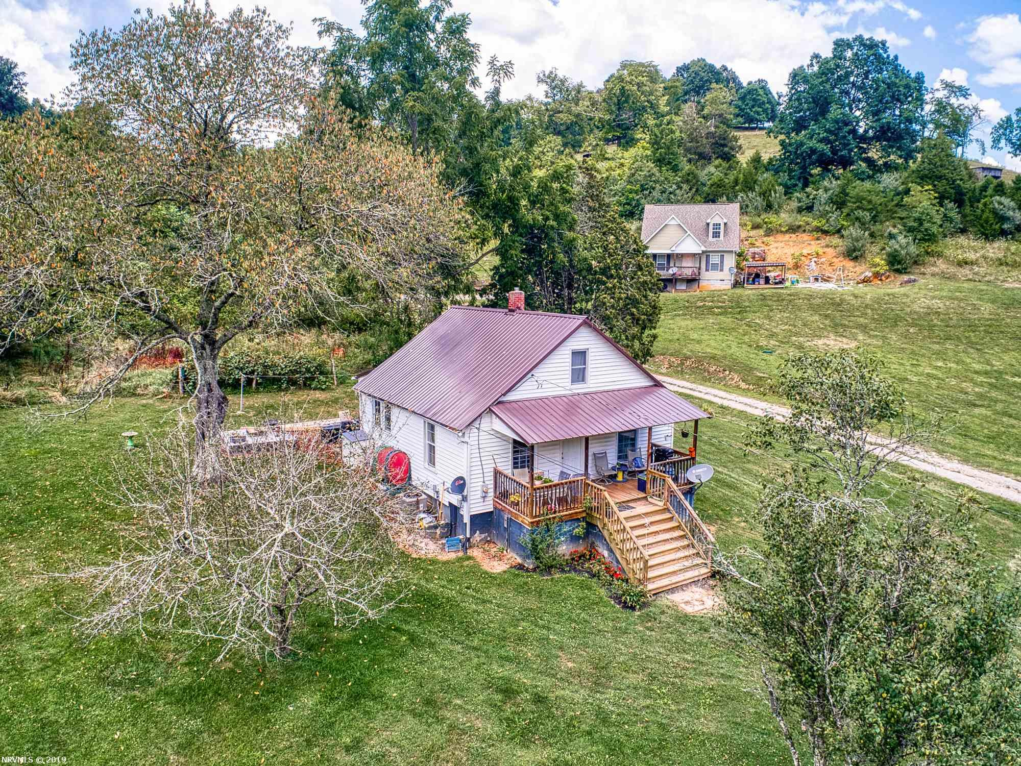 Looking to expand your rental portfolio or a first time home buyer?  This 3 bedroom 1 bath home is just 20 minutes to Blacksburg or Virginia Tech situated on just over 2 acres.
