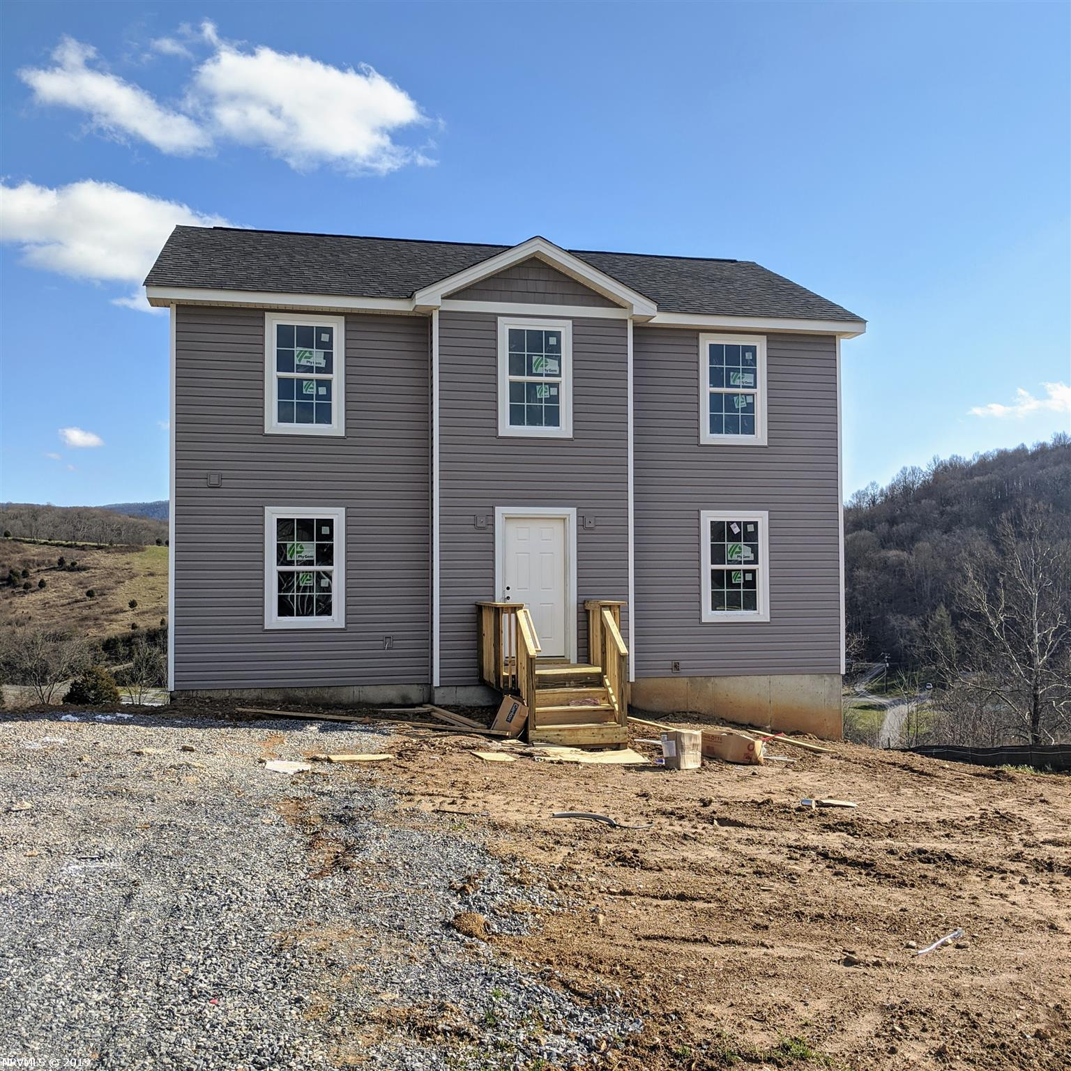 Come take a look at this brand new home with its amazing views This home sits in one of the newest up and coming communities  just minutes from downtown Blacksburg. With 3 bedroom 2.5 bath and a large unfinished basement you'll be sure to have plenty of room to grow. Why pay Blacksburg prices??   Only 15 minutes from VT campus.  The neighborhood offers a walking trail, picnic shelter, and pond. Yard care included.