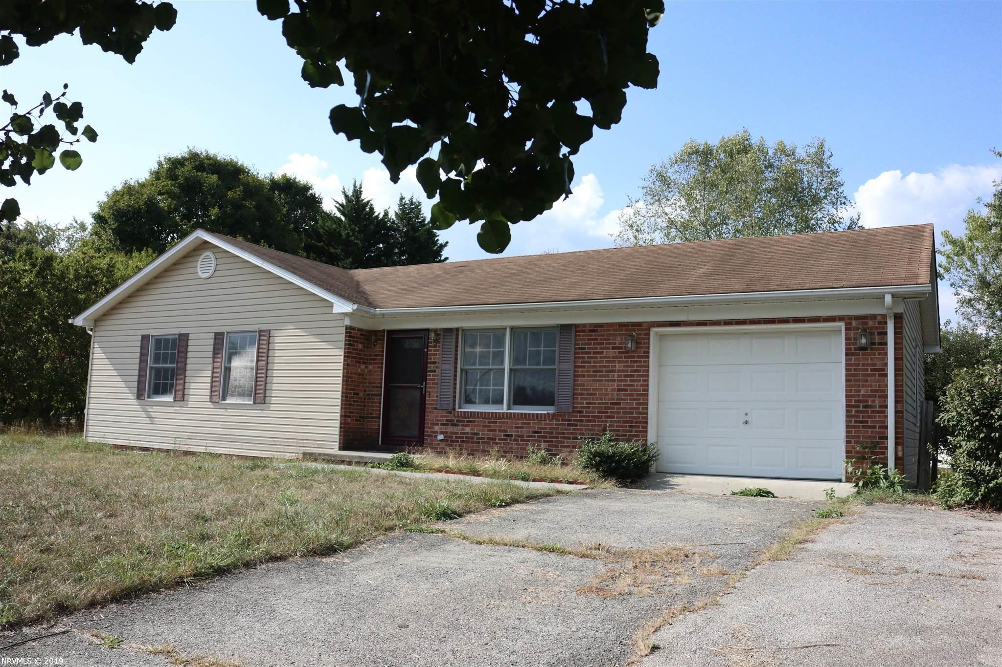 "One level ranch located in quiet neighborhood.  Cul-de-Sac location and with a big and level yard - .458 acre.  Attached single garage.  Laminated floors in Living Room and three Bedrooms.  All kitchen appliances were new in 2016.  Public water and Septic.   Full basement for future expansion.  Laundry pair would convey with sale.  Seller offers $2,000 for repair/closing allowance.  Property will be sold in ""AS IS where IS"" condition.  Home Inspection is for Buyer's information only."