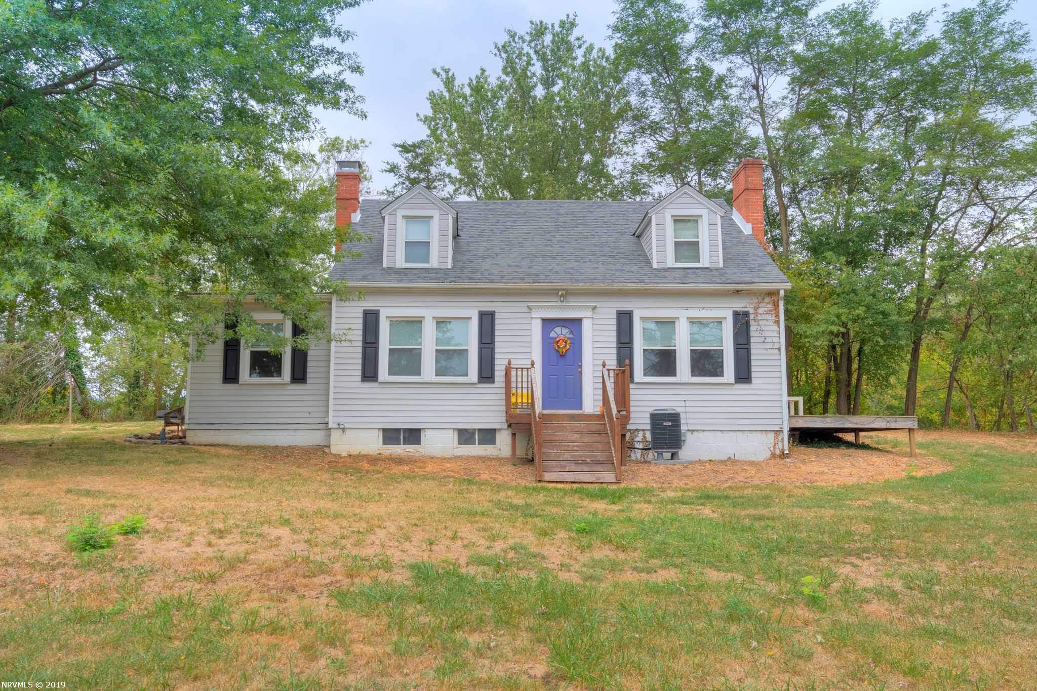 Cape Cod style home, 4 bedrooms 2 full baths, additional half basement with concrete floor unfinished, nice brick fireplace in living room, hardwood floors throughout home, new heat pump, and gorgeous arched doorways and energy efficient windows. Make your appointment today to view this spacious home!