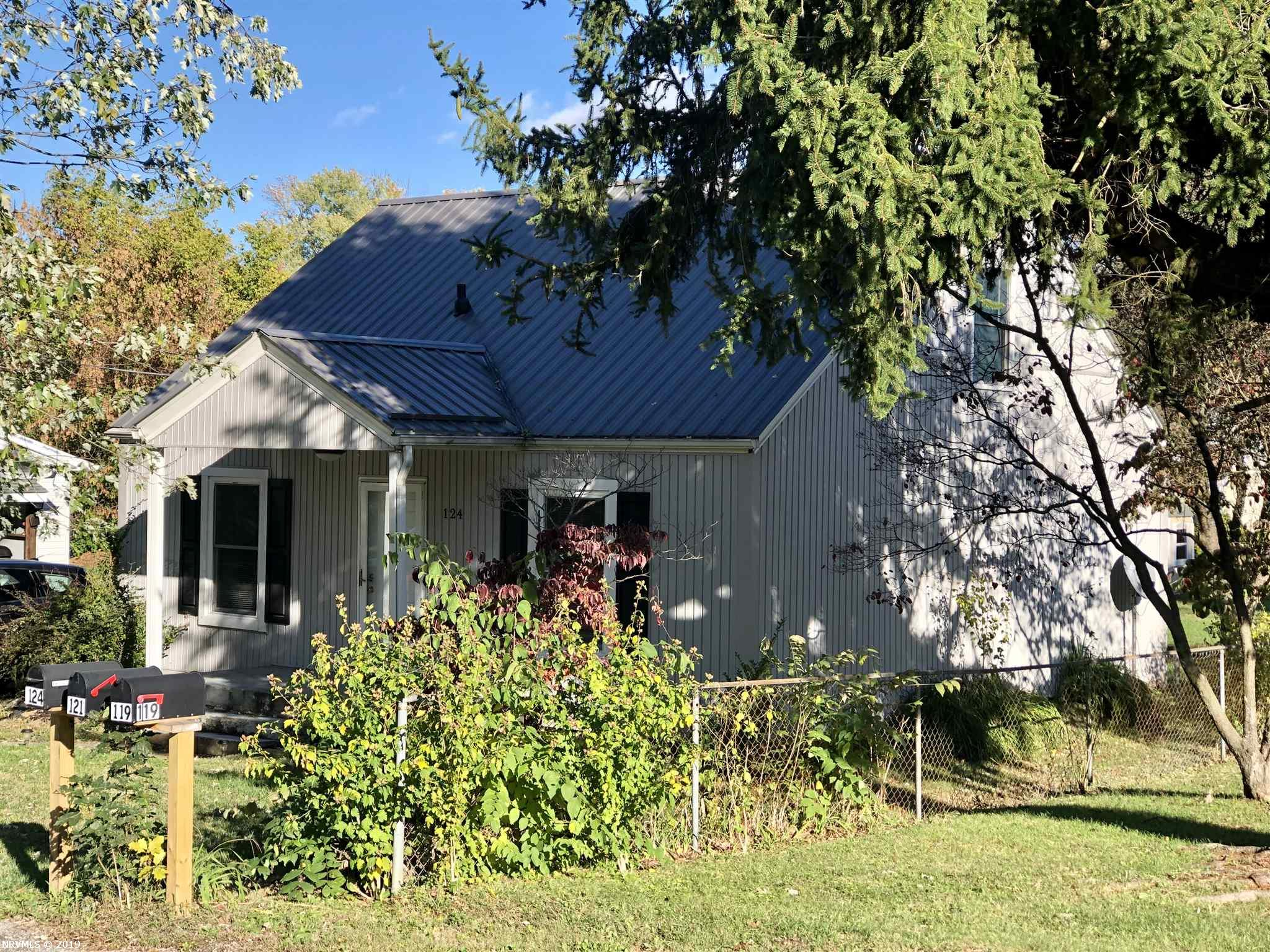 This home is move in ready.  Convenient to Radford University and New River Community College.  This home was renovated in 2015. Updates include oak hardwood floors, heat pump, electrical, insulated windows and a new metal roof.  The home also has a nice flat back yard.