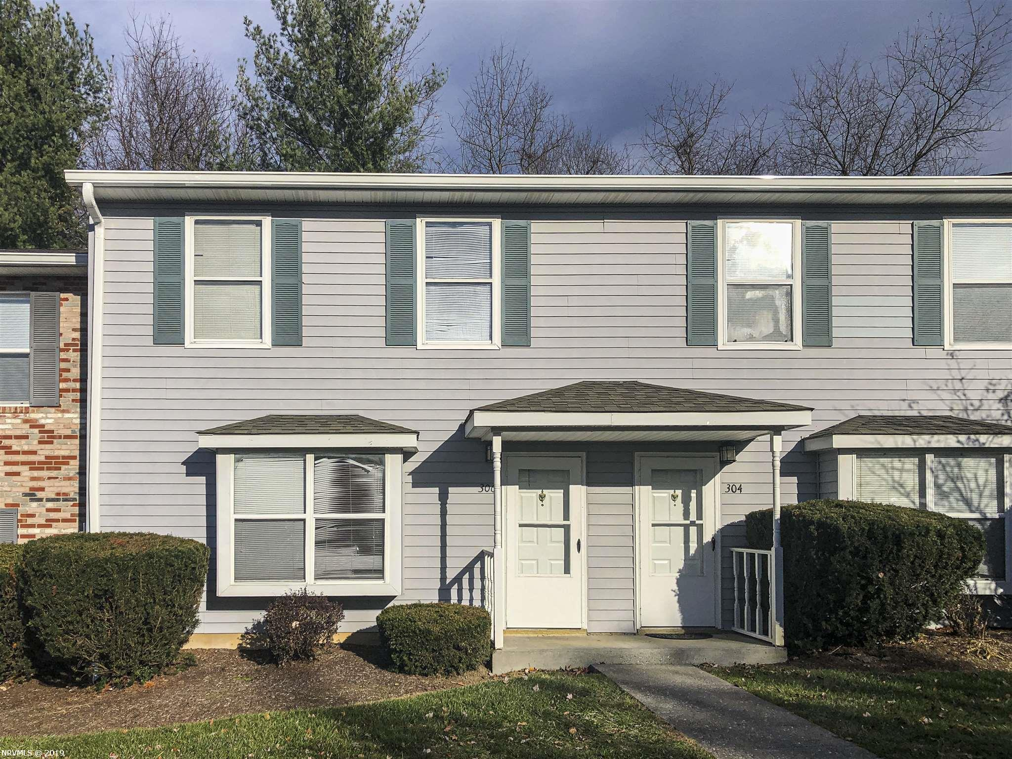 Highly desirable Pheasant Run Court townhouse. Popular Blacksburg community with the convenience to public transportation, Virginia Tech, shopping and dining! HOA covers all yard maintenance, pool maintenance, snow removal, and more. This unit is an excellent investment, ideal for students & young professionals. Schedule your showing today, this unit won't last long!
