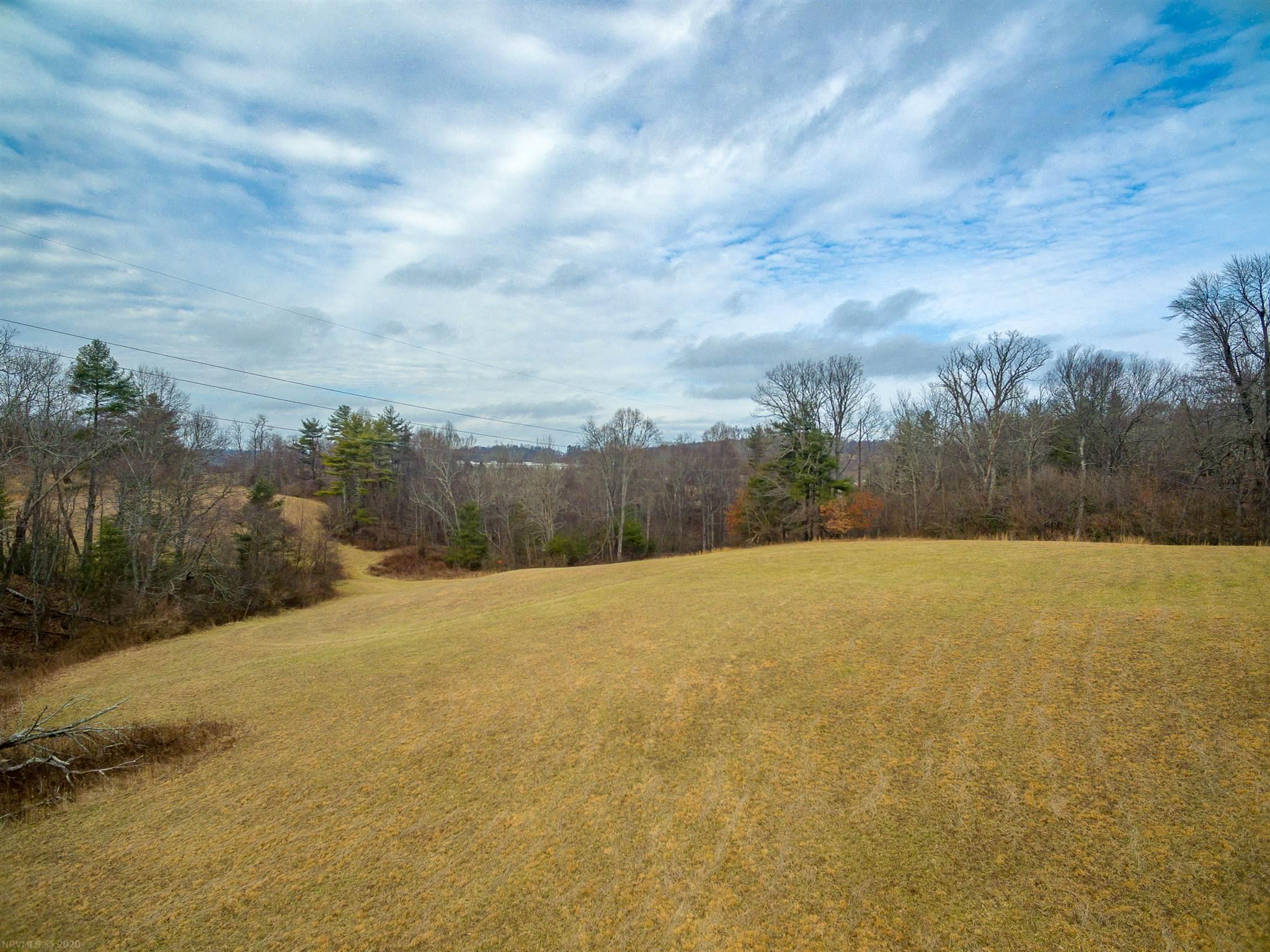 This is a beautiful tract of land with a stream on the property. There is a great mix of open and wooded land. There are plenty of sites to choose from to build your dream home. You are well hidden from the road here as well. Come and take a look at this one, you'll be glad you did. Property is accessed by way of a Right-of-Way.