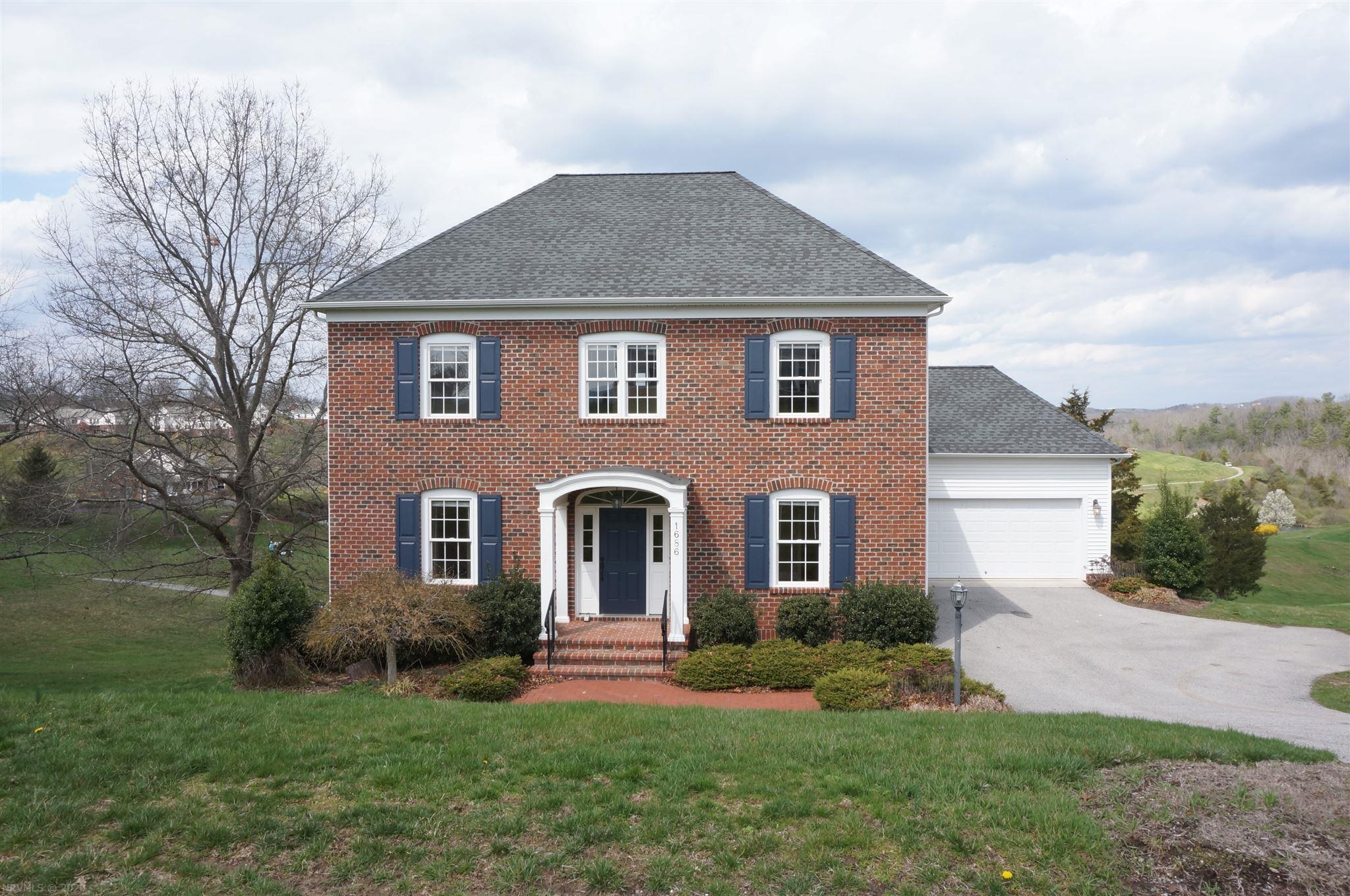 Fantastic brick colonial boasts open floor plan with lots of natural light. Excellent flow from garage to mudroom to huge kitchen. Main level flex room could be a study or a guest room since it has private access to the main level full bathroom. Awesome sitting area on second floor, generous bedroom sizes and luxurious master suite. Basement is plumbed for a bath and has lots of natural light - could be finished to provide additional space or left as is and used for storage, hobbies, gym, toys, etc...