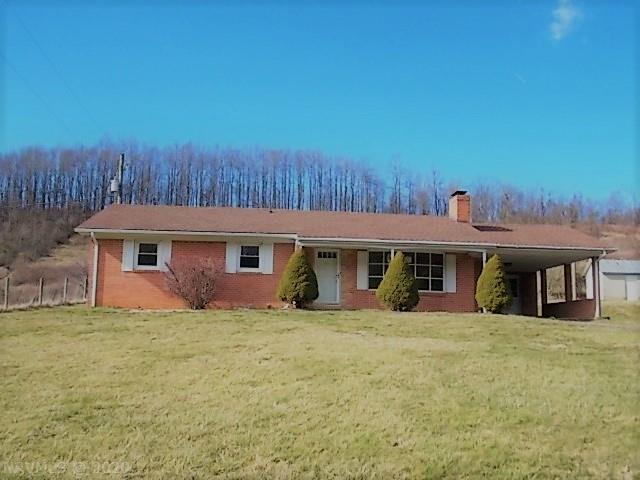 "This spacious rancher may be just what you are looking for!! Hardwood floors, a large back yard and lots of room in the basement. This home is a rare find at this price!! This home is sold ""AS IS WHERE IS."". And located just minutes from downtown Floyd, Virginia."