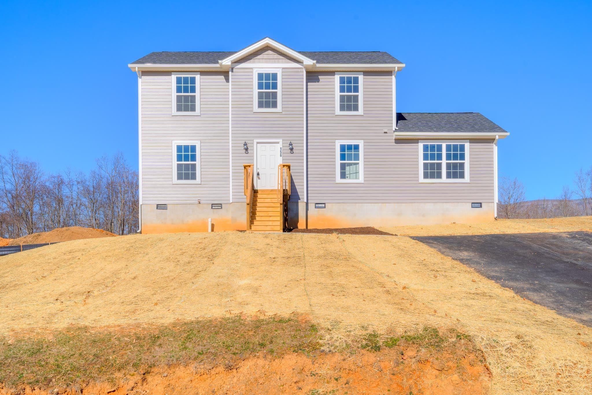 Come take a look at this brand new home with its amazing views. This home sits in one of the newest up and coming communities just 15 minutes from downtown Blacksburg. With 4 bedroom 3.5 baths there is plenty of space for you and your family. Why pay Blacksburg prices?? The neighborhood offers a walking trail, picnic shelter. Great Views! Come watch the sunset over the mountains. Never mow the Grass again, Live in this Maintenance Free Neighborhood w/22 Acres of Common Land, 2 Picnic Shelters,Playground,Basketball Court,Pond,Walking Trails & more!Located only 12 miles to Virginia Tech(VT) Pond is next to 1 of 2 Picnic Shelters & Picnic Shelter has a Fireplace for entertaining Guests & Picnic Tables. Buy now and chose all your colors.