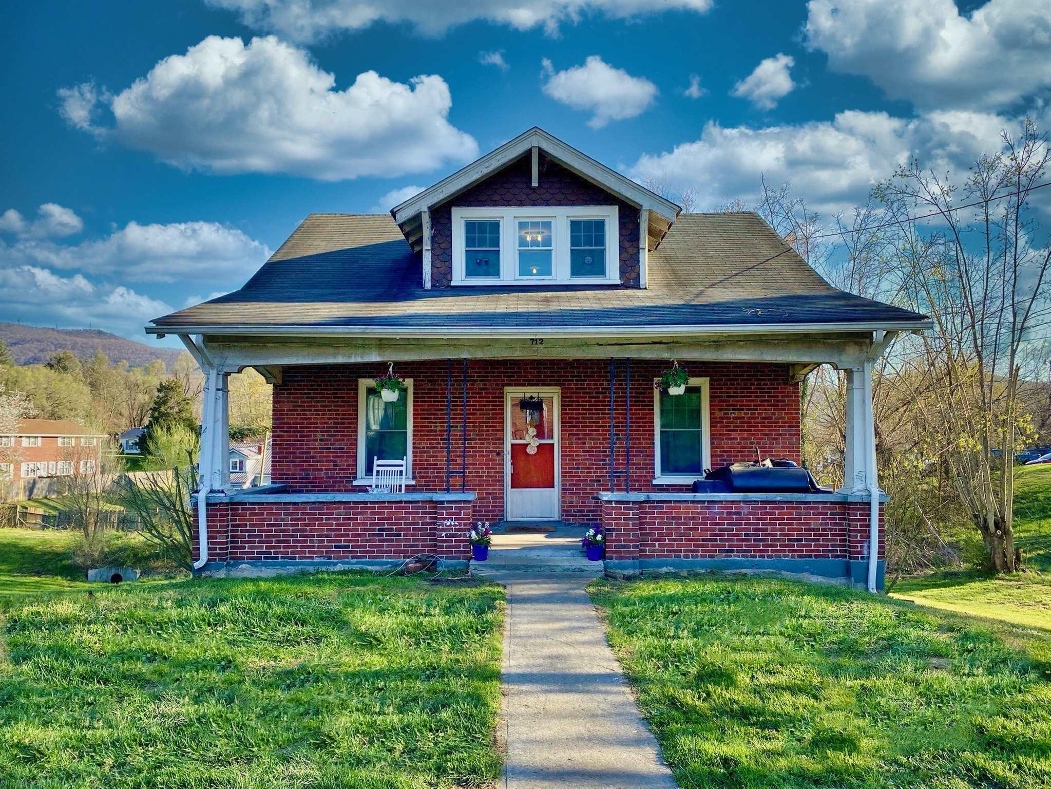 What a great starter home and great value. This home is well built  with great bones and lots of character! Lounge on the great front porch in the evenings. Within walking distance of restaurants. Hardwood floors. This home needs a little TLC but the hard part has been done. New Heat pump, and all new Pella windows. In 2008 there was a new gas Furnace, new insulation upstairs in the walls and floor and  new plumbing throughout..2012 there were new shingles, gutter and front porch fascia board, 2017 Mobile dishwasher and in 2018 new hot water heater and water efficient toilet.  So the heavy lifting is done. Now your palate awaits on how to make it yours.