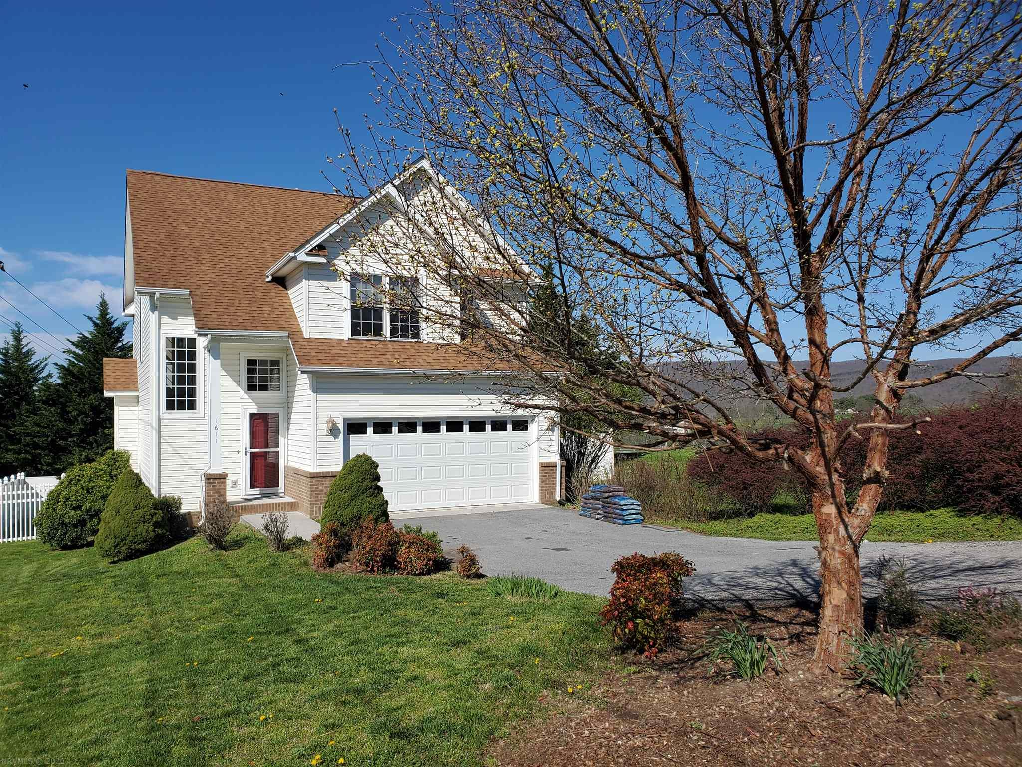 This Blacksburg Beauty Won't Last Long! Contemporary Home with Open Concept Living, Dining, and Kitchen ~ Main Level includes Fireplace in Living Area, Kitchen, Half Bath, Screened Porch, and Deck with Bench Seating Leading to a Refreshing In-Ground Pool. 3 Bedrooms, 2 Full Baths, and Laundry Room on Upper. Convenient Location and Move In Ready!