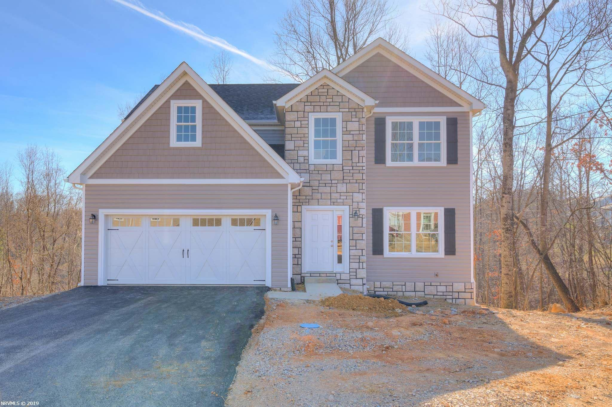 This beautiful brand new home has a wonderful open floor plan and is situated on a private street. The large kitchen with its stainless steal appliances has tons of room for you chefs. With 4 bedroom and a full unfinished basement you have plenty of space to grow. Great views off the deck. Come enjoy all that the Beautiful Walnut Creek has to offer!! Walking Trails, Green space, Playground and more. Why buy a old home when you can buy a brand new energy efficient home! Call to schedule an appointment today! Still time to choose all colors.