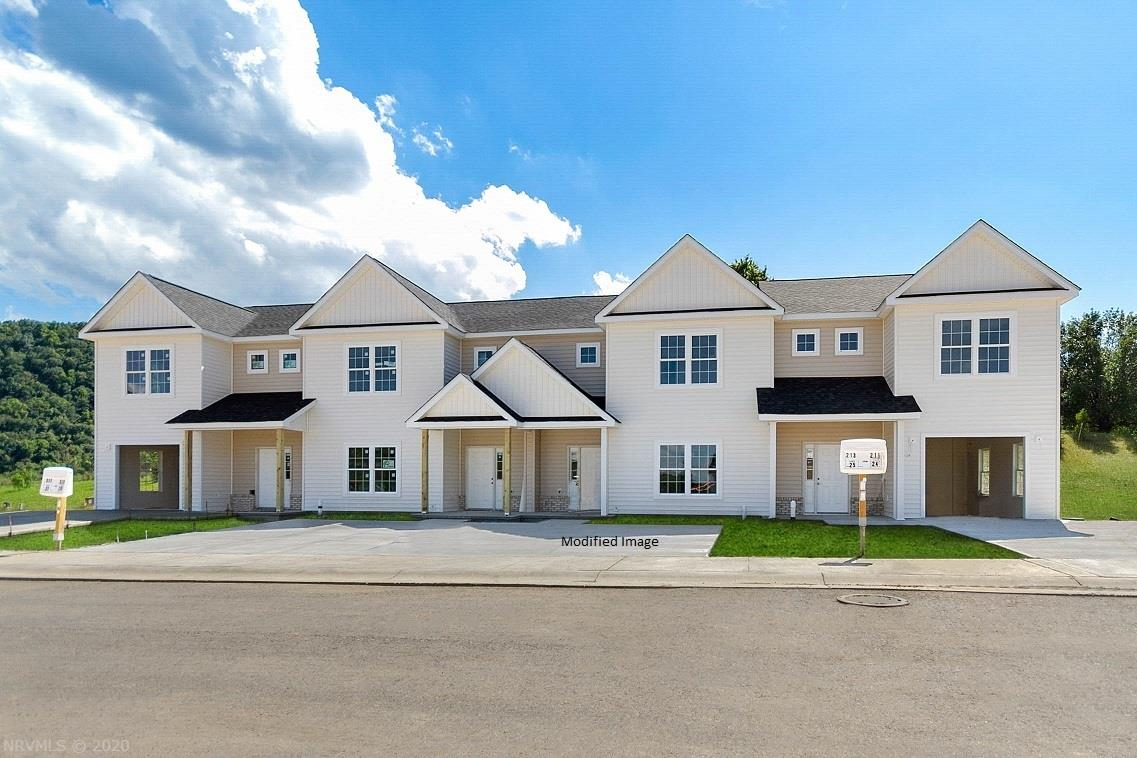 New Construction Townhomes. Single car garage. 3 bedroom 2 1/2 baths. Double hung windows, 9' ceilings on the main level and  Granite counter tops. Laundry is on upper level.  HVAC is natural gas with central air. Natural gas on demand water heater.