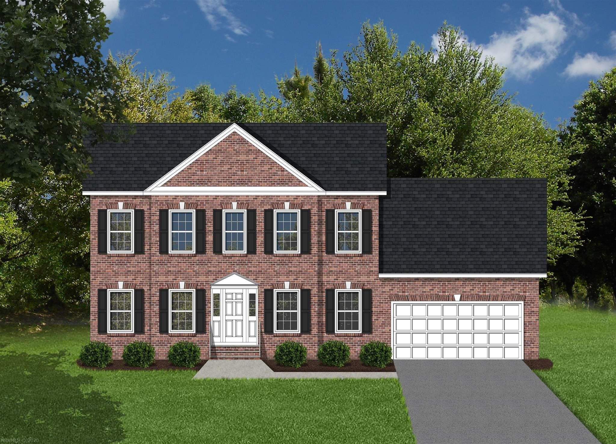 This is a pre-construction listing that is not yet built. info. below and pictures attached for our Brentwood style, with the Master bedroom on its Main level, home which offers 2,565 square feet above grade, and 9' framed walls on first floor with smooth drywall finish. This house plan incorporates hardwoods on the entire main living level, ceramic tile in the baths and laundry, oak treads, and carpet throughout remaining areas. Tahoe cabinets by Timberlake in the kitchen and Fairfield in the bathrooms make the home even more beautiful. The kitchen counter tops are luxurious granite and the bathrooms are cultured marble. Crown molding can be found in the dining room and master bedroom, as well as chair rail with wainscoting in the dining room. Kensington is conveniently in Christiansburg off Mud Pike Road and adjacent to Christiansburg Middle School. Owner/Agent.