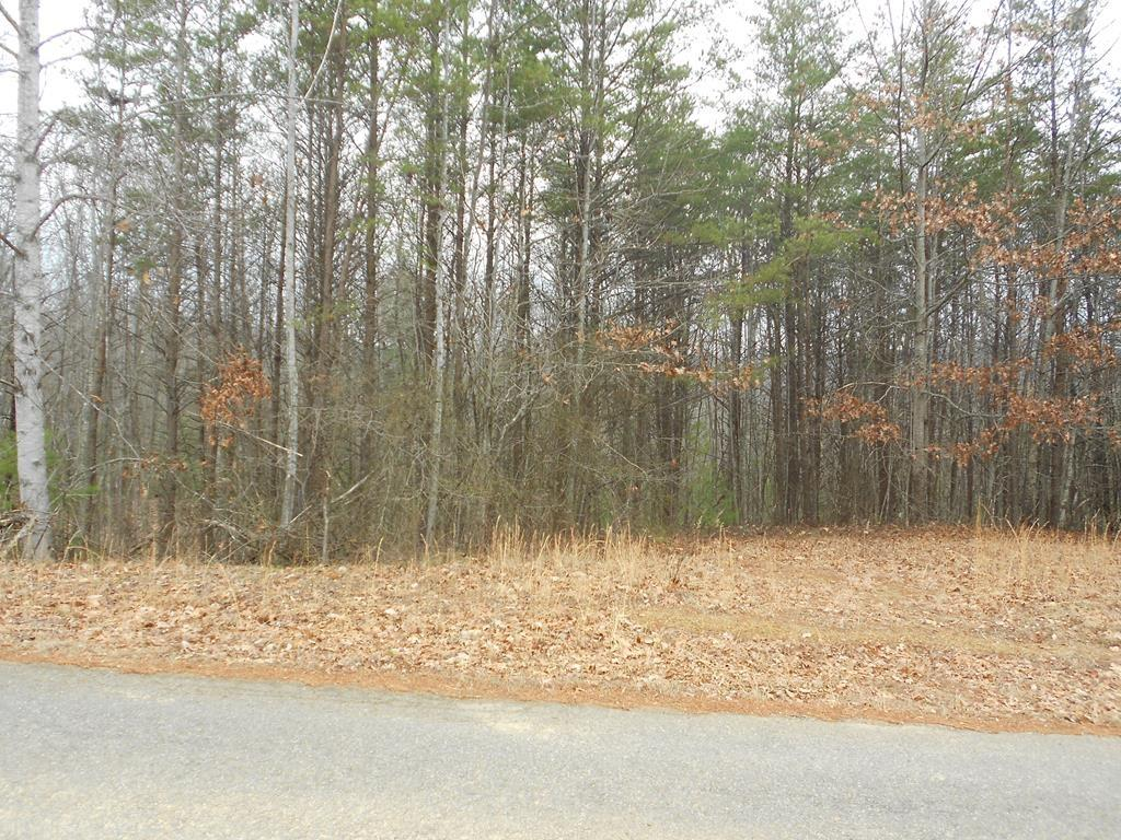Owner may be willing to finance. Buildable wooded 1+/- Acres Land Lot on paved county road. No Restrictions. Manufactured homes OK. Mostly wooded, you can clear only the trees you want to clear and tuck your home/cabin under the canopy of the trees to be private and secluded. Suitable for all home styles including stick built, modular and doublewide. Lots of mature hard wood and pines. Only minutes from the Blue Ridge Parkway with private road for easy access off state maintained road. GREAT PRICE for buildable land. Addendum: Can be purchased with additional acerage for a total of 42+/- acres for $115,000. See MLS
