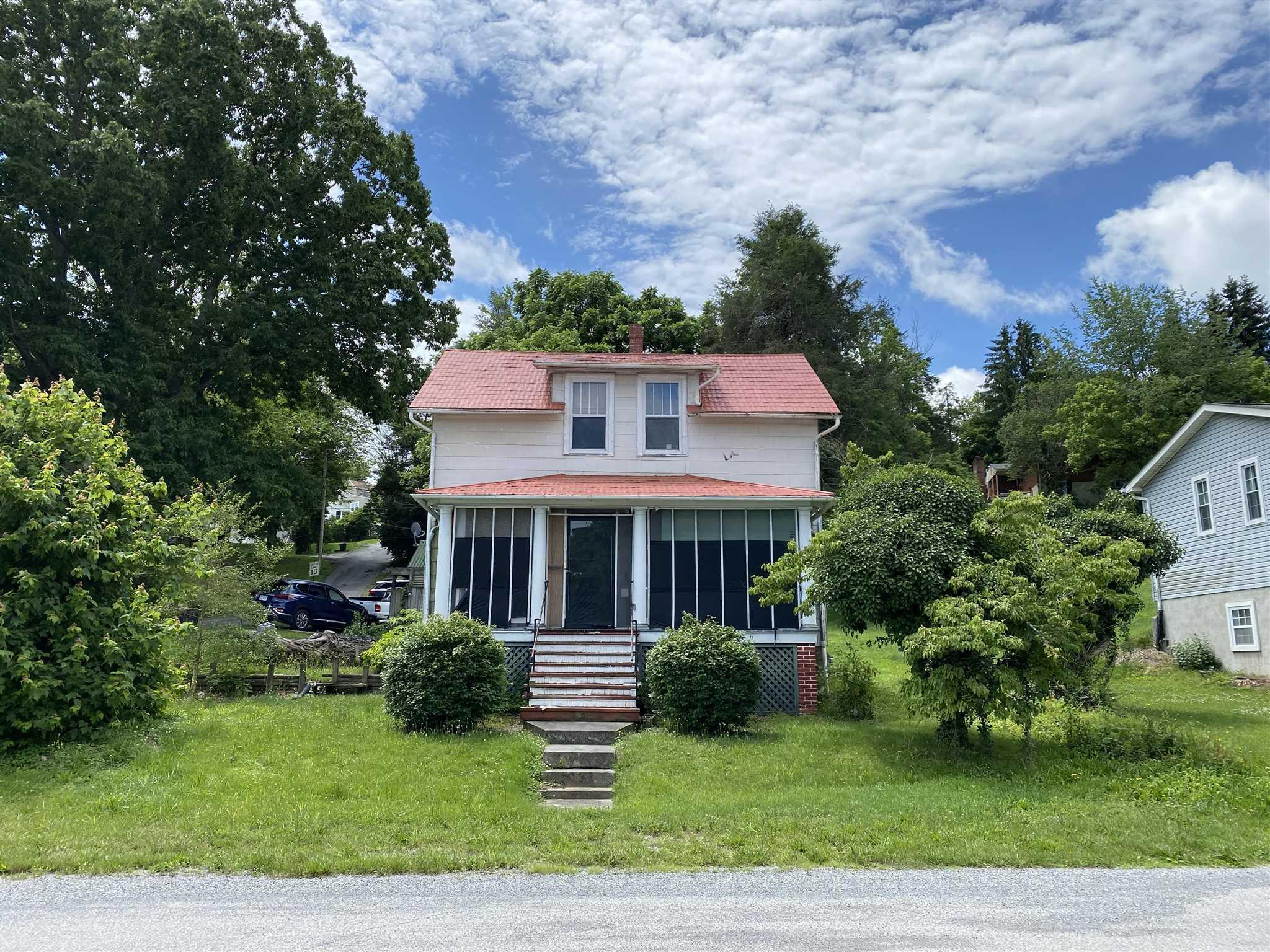 Project home ready for a new owner! Enjoy the mass potential this home has to offer with its roomy feel, high ceilings and original hardwoods throughout. Full basement with a fully functional workspace, as well as access to all of the home's major appliances.