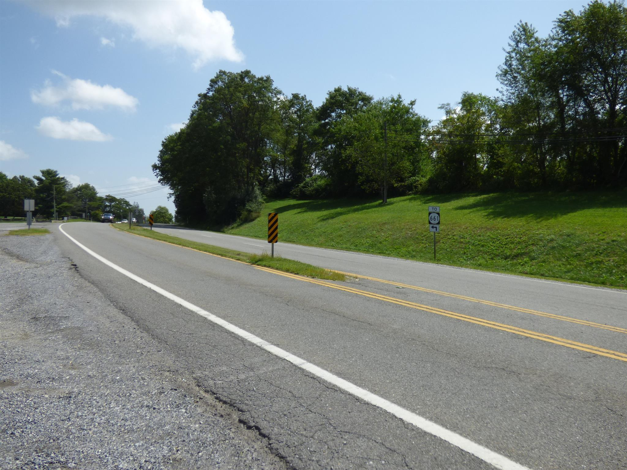 Just over 9 acres with 900 feet of road frontage right off of exit 70. Great investment opportunity for multi-family development. commercial, etc Come see the endless opportunities for this piece of property yourself!