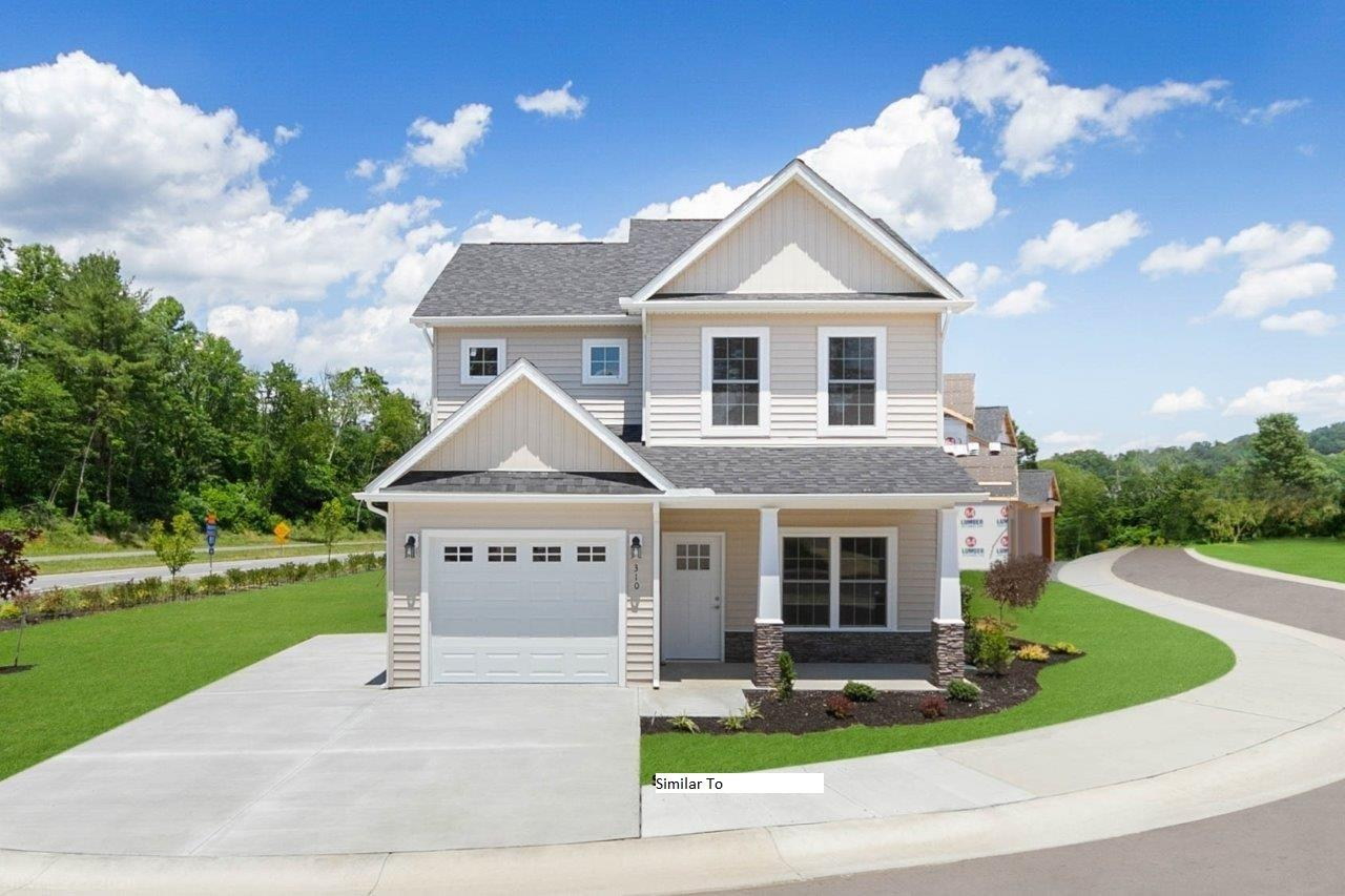New Subdivision, New Construction.  Open floor plan with Kitchen, Dining and family room. Master on the Main with 2 walk in closets. 3 bedrooms and laundry on upper level. On demand gas water heater. Additional attic storage. Home will be completed within 45 days.