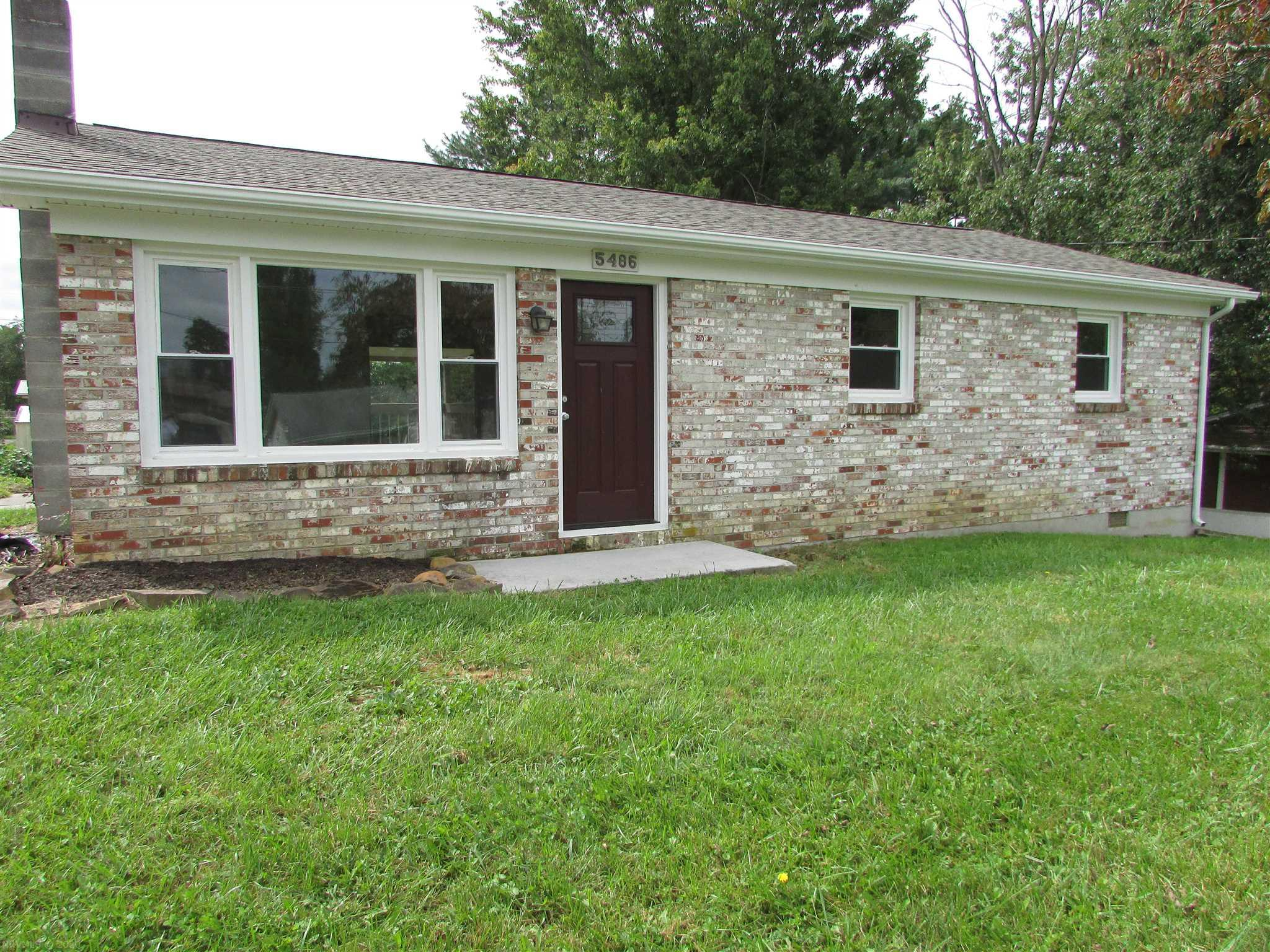 Completely remodeled three bedrooms,1 bath brick ranch. New roof ,new heat pump, all inside redone. New floors, new drywall, new insulation, all new Custom kitchen cabinets, and appliances. New bathroom. All new wiring. Come view this like new home before it is gone.