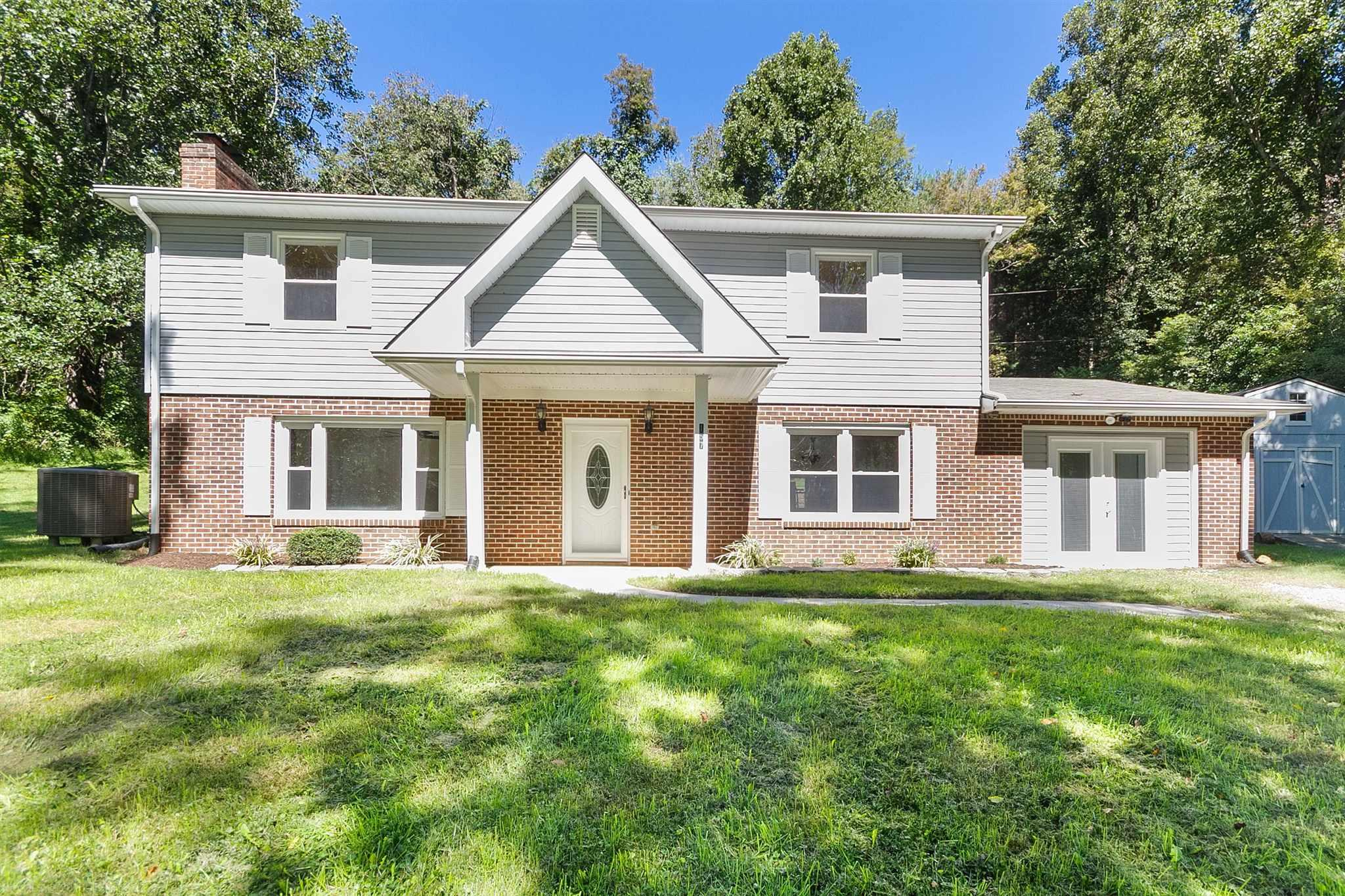 Family room, Living Room and Play room all on the main floor. Vinyl plank flooring on main level. Hardwood floor upper level. 2 full updated on upper level. 4 large bedrooms. Lots of room to spread out. Enjoy cookout or sunning on the versa lock patio.
