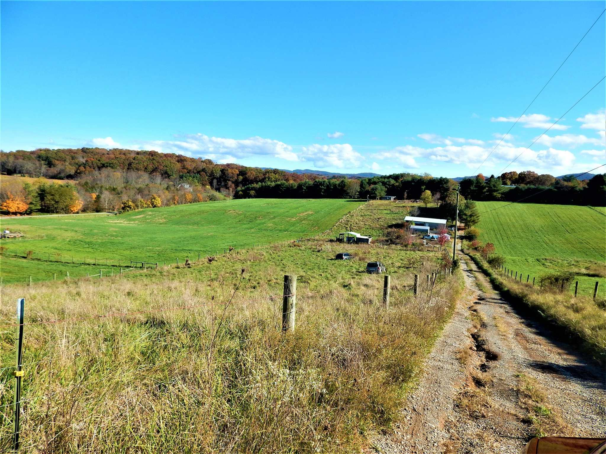 This is a fantastic piece of land that offers many possibilities. There was a home on the property and the property does have a well and septic on it at was utilized up until early 2019. There are also many sheds, carports and a garage on the property and fencing that boarders the whole piece of land.
