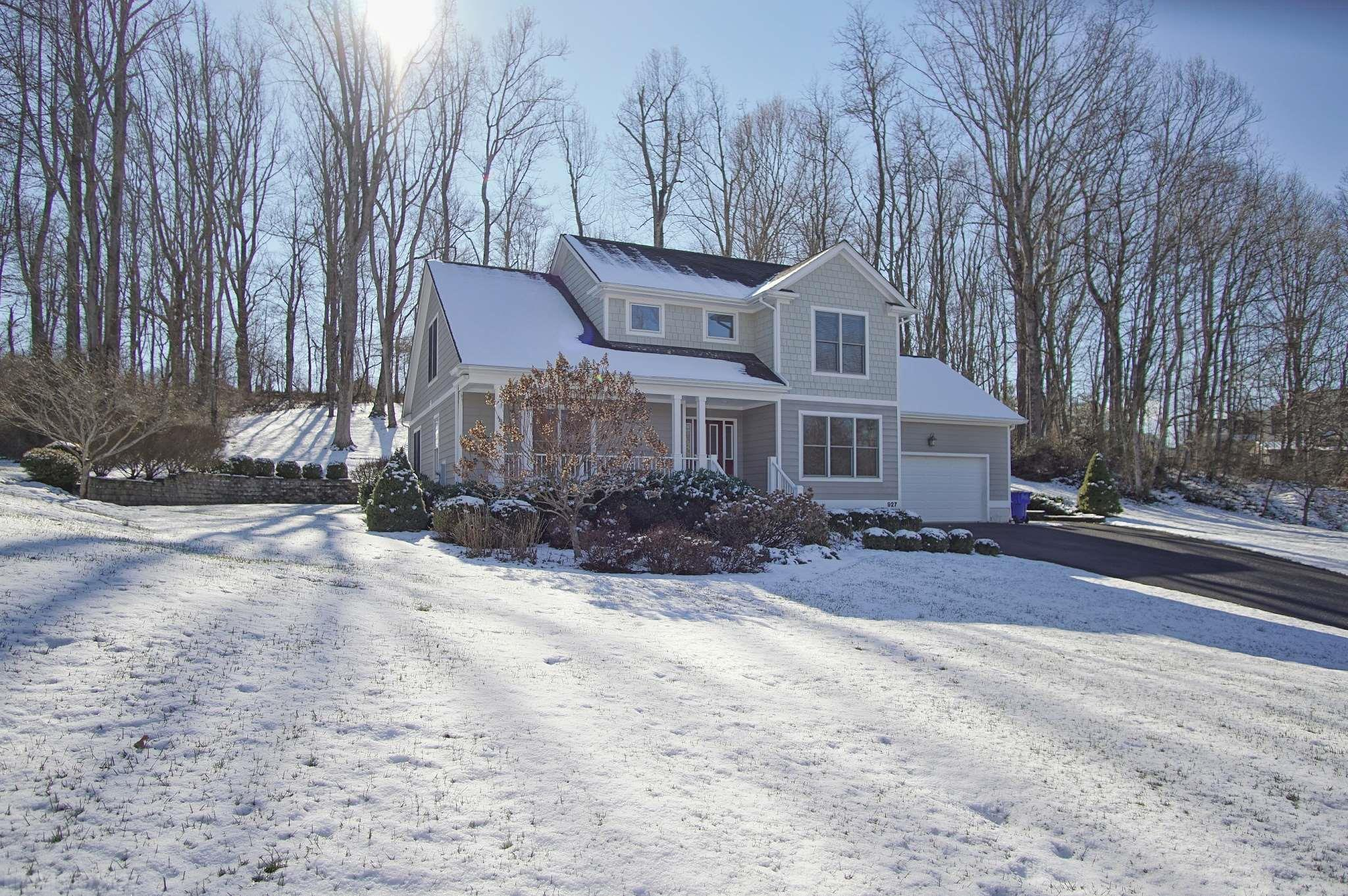 Bright and spacious 4Br, 2.5 bath home on over an acre on a tree lined street just minutes from VT Campus.  Main level features a spacious kitchen, family room, guest room or office, formal dining room and inviting foyer all with new paint and newly refinished hardwood floors.  Two car garage is on the main level convenient to the kitchen.  Upstairs includes a well appointed master suite with two additional bedrooms.  Enjoy the well manicured lot of over 1 acre from both the front porch and the ground level back deck.  The large yard offers room to play and mature trees and landscaping.  Low maintenance exterior finished in Hardi siding, concrete walkway, and paved driveway.