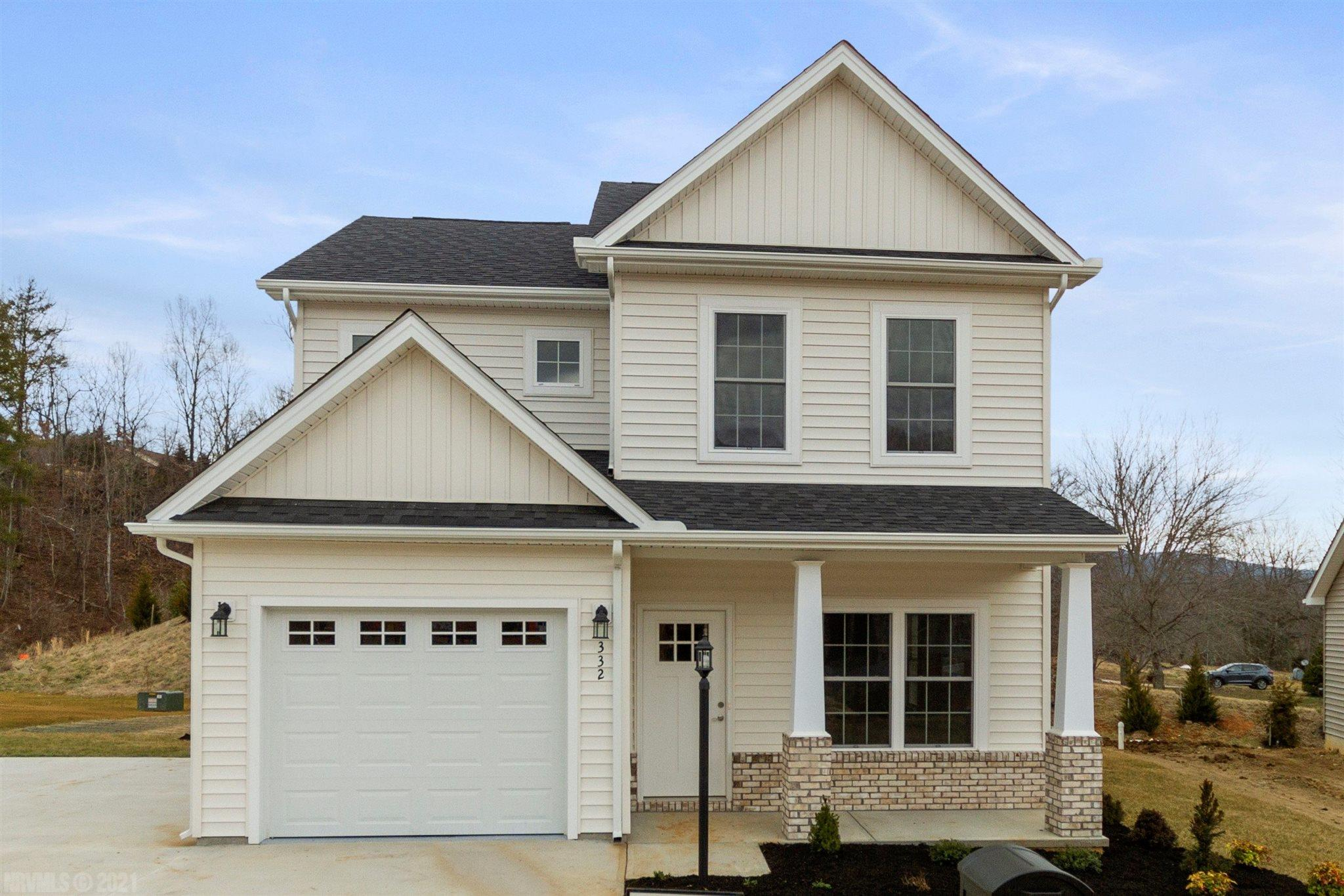 New Construction. 4 Bedroom 2.5 bath home with Single car attached garage. Granite Counter tops through out. LTV Plank in living room/dining area, powder room and kitchen. Carpet in Bedrooms. Laundry room upper level with mechanical room and storage. Monthly HOA fee is $50.00. All photo's are stock photo's.  No Sheetrock in this house yet.