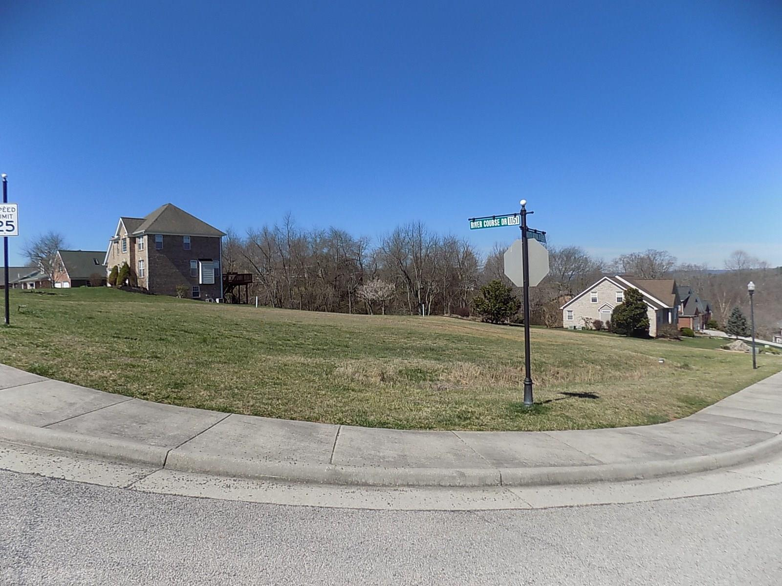 Nice Corner lot  with majestic river view available in Heron's landing at the river phase 1! Property sits at the Pete Dye VA Tech golf course, within walking distance to club house and practice range. Conveniently located between Virginia tech central campus and Radford university. Grocery stores, restaurants, and shopping centers are nearby, just minutes away by car. Land is cleared and ready for those looing  to build your dream home. Public water and sewer available.